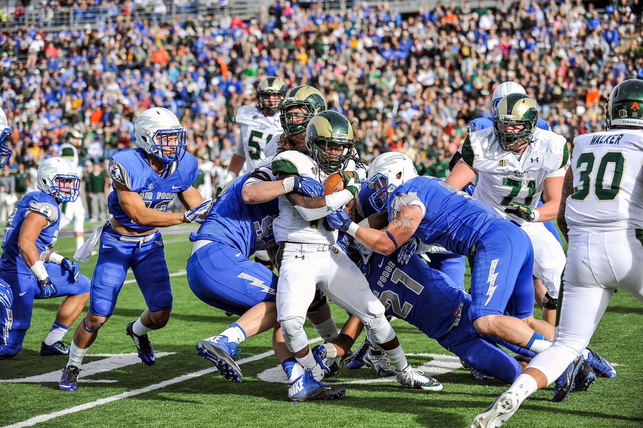 Colorado State vs Air Force Ram Falcon Trophy rivalry