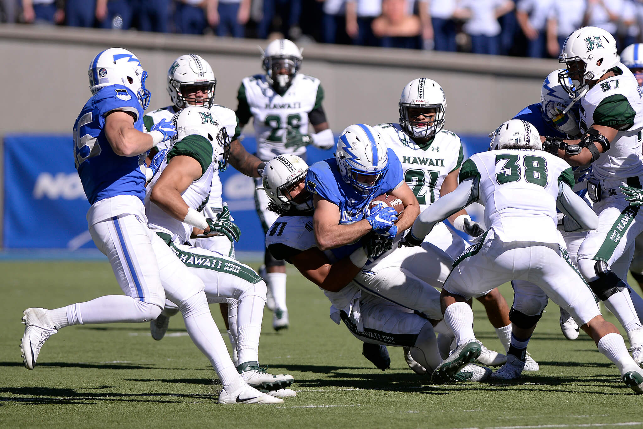 Air Force vs Hawaii Kuter Trophy rivalry
