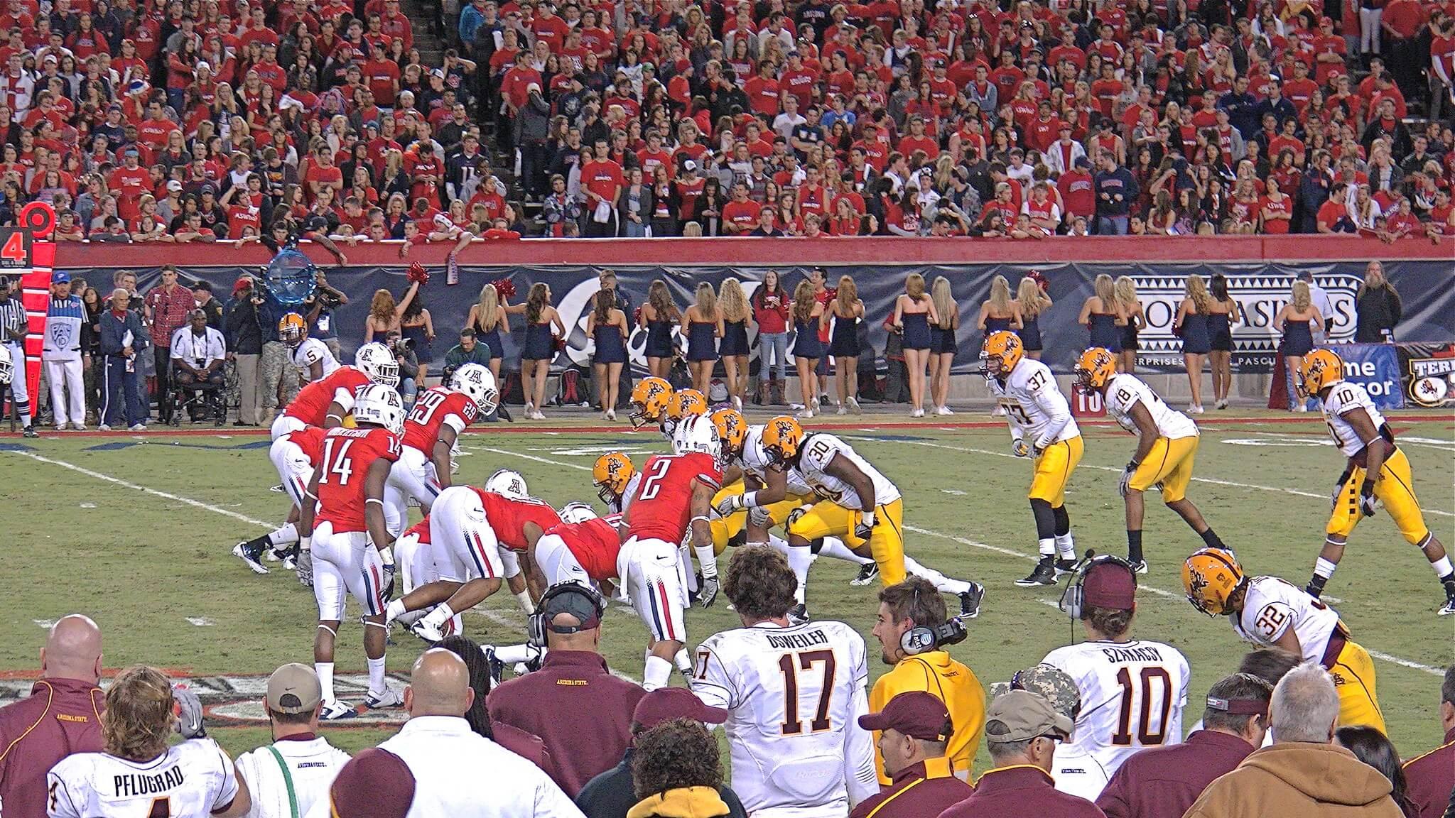 Arizona vs Arizona State Territorial Cup rivalry