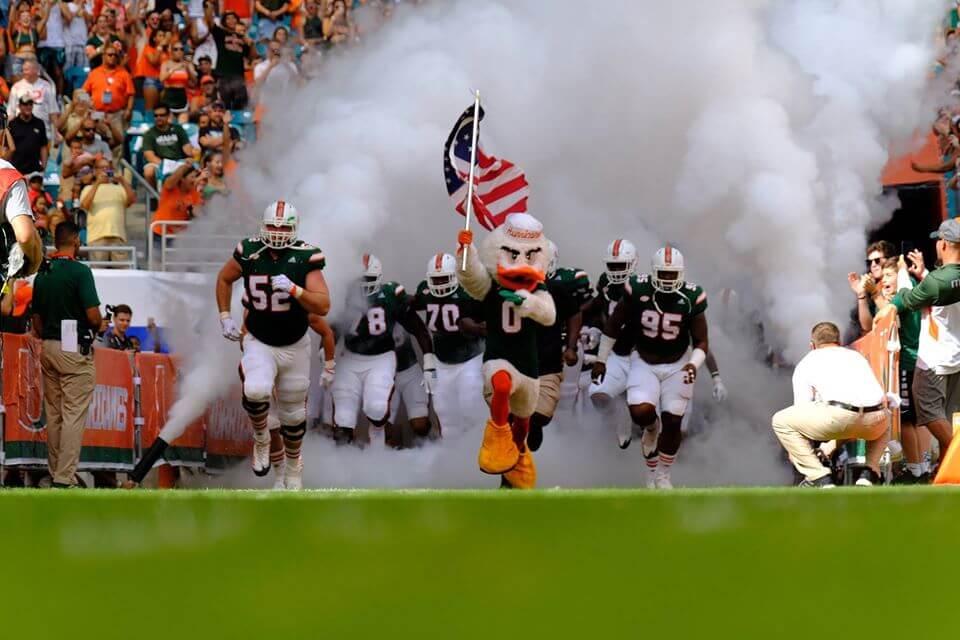 Miami Hurricanes The Smoke rivalry