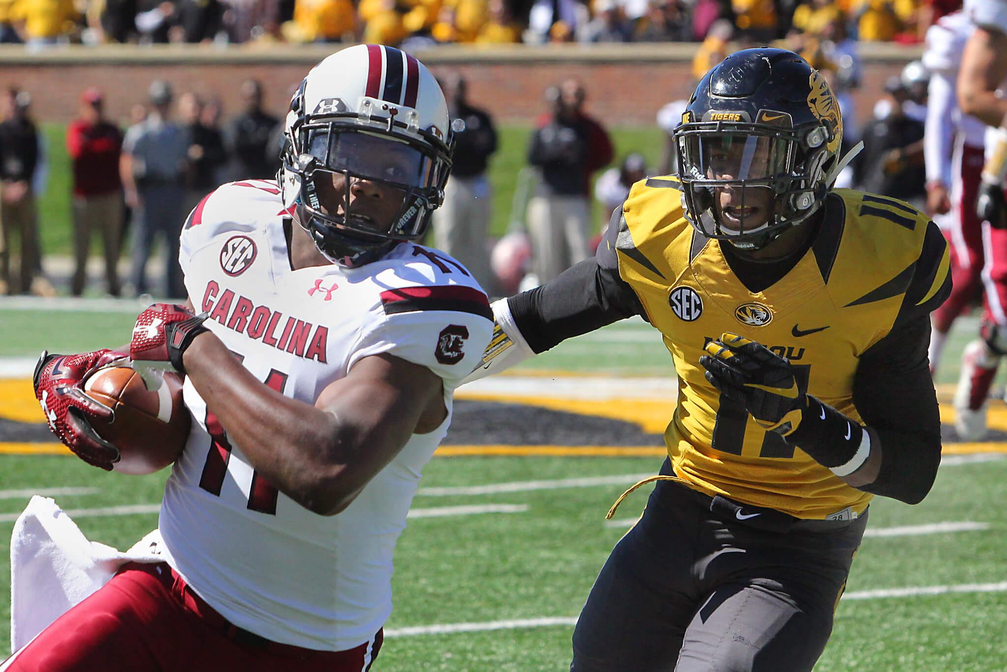 Missouri vs South Carolina Battle for Columbia rivalry