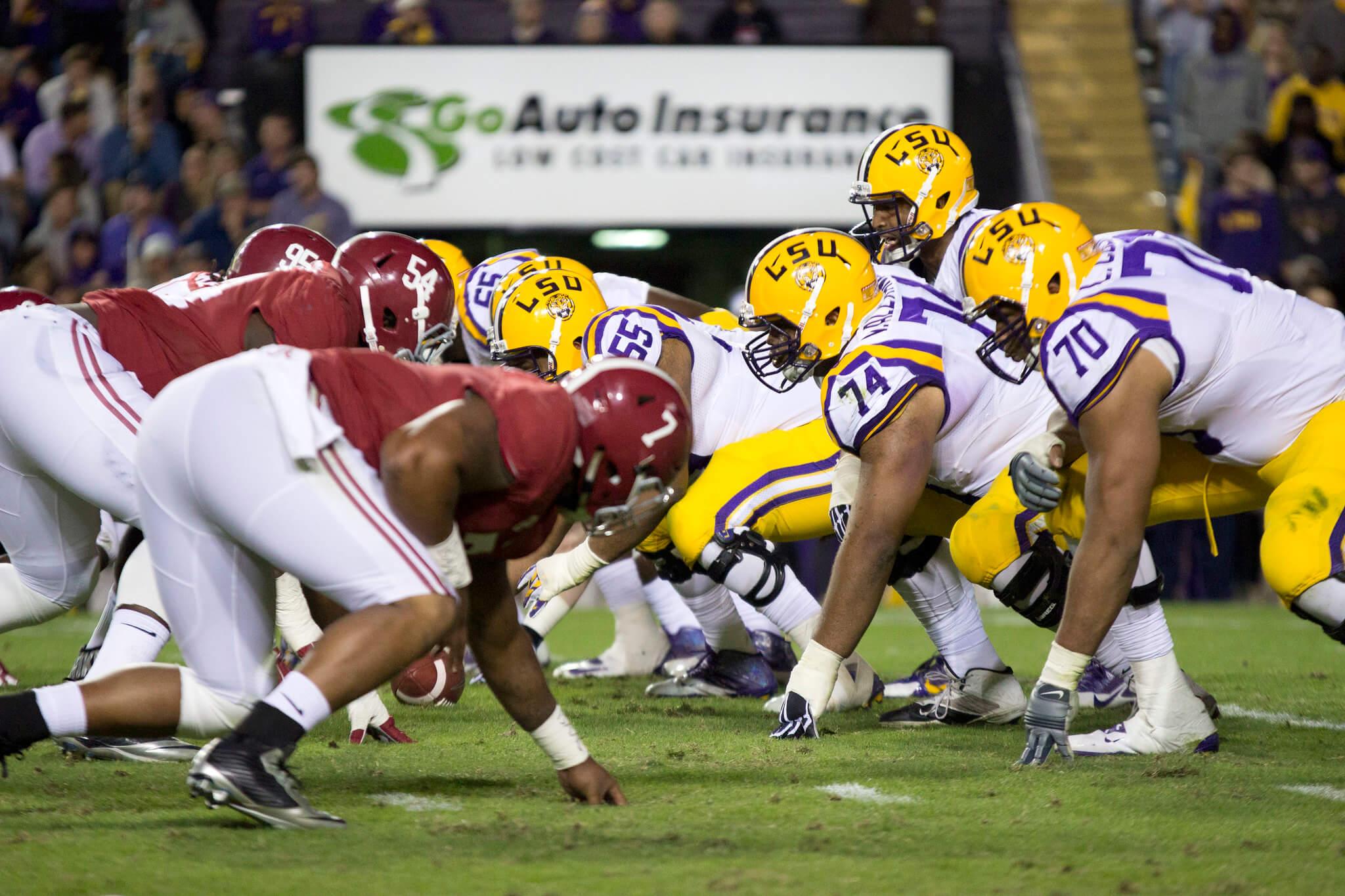 LSU vs Alabama rivalry