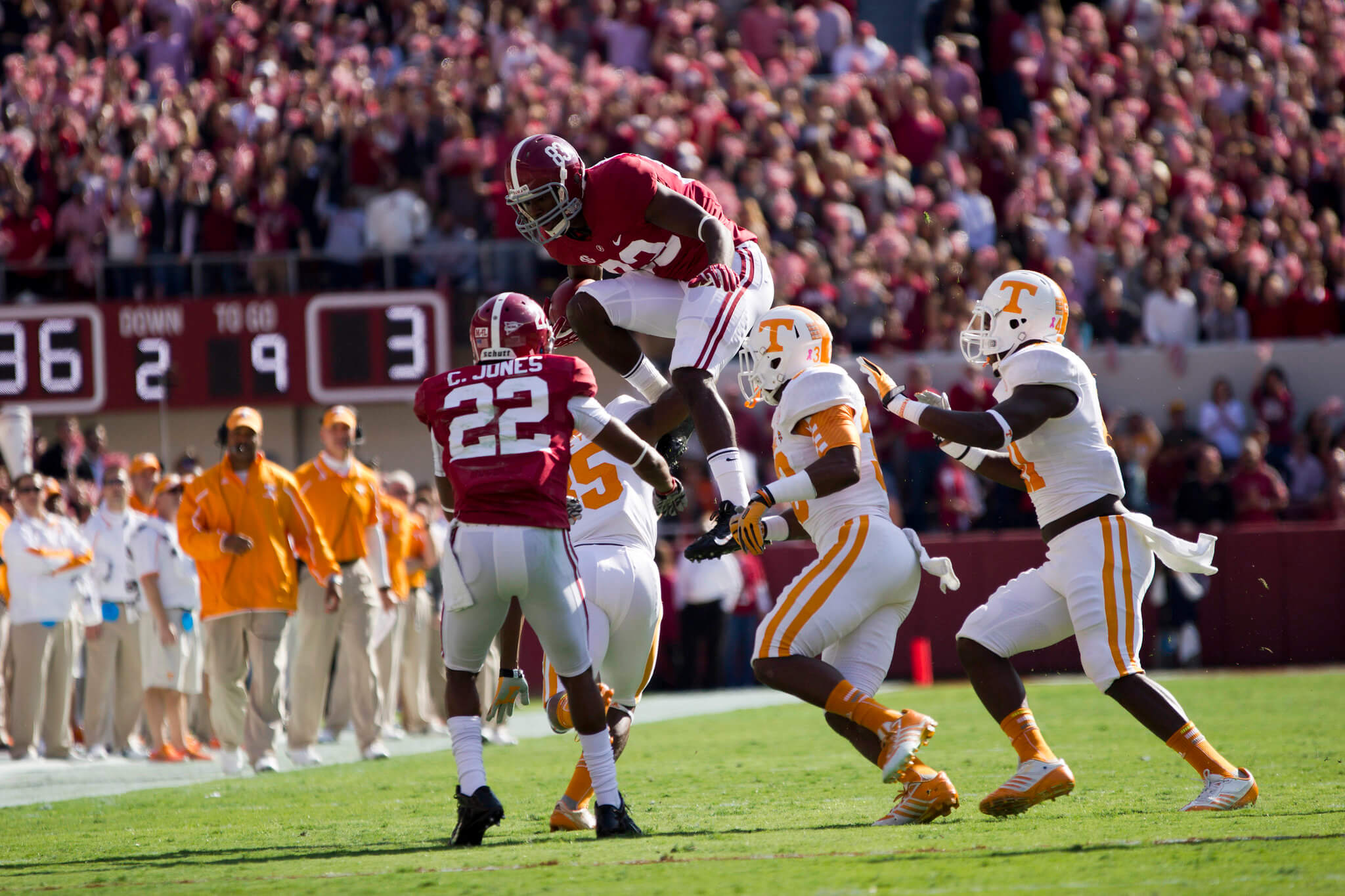 Tennessee vs Alabama Third Saturday in October rivalry