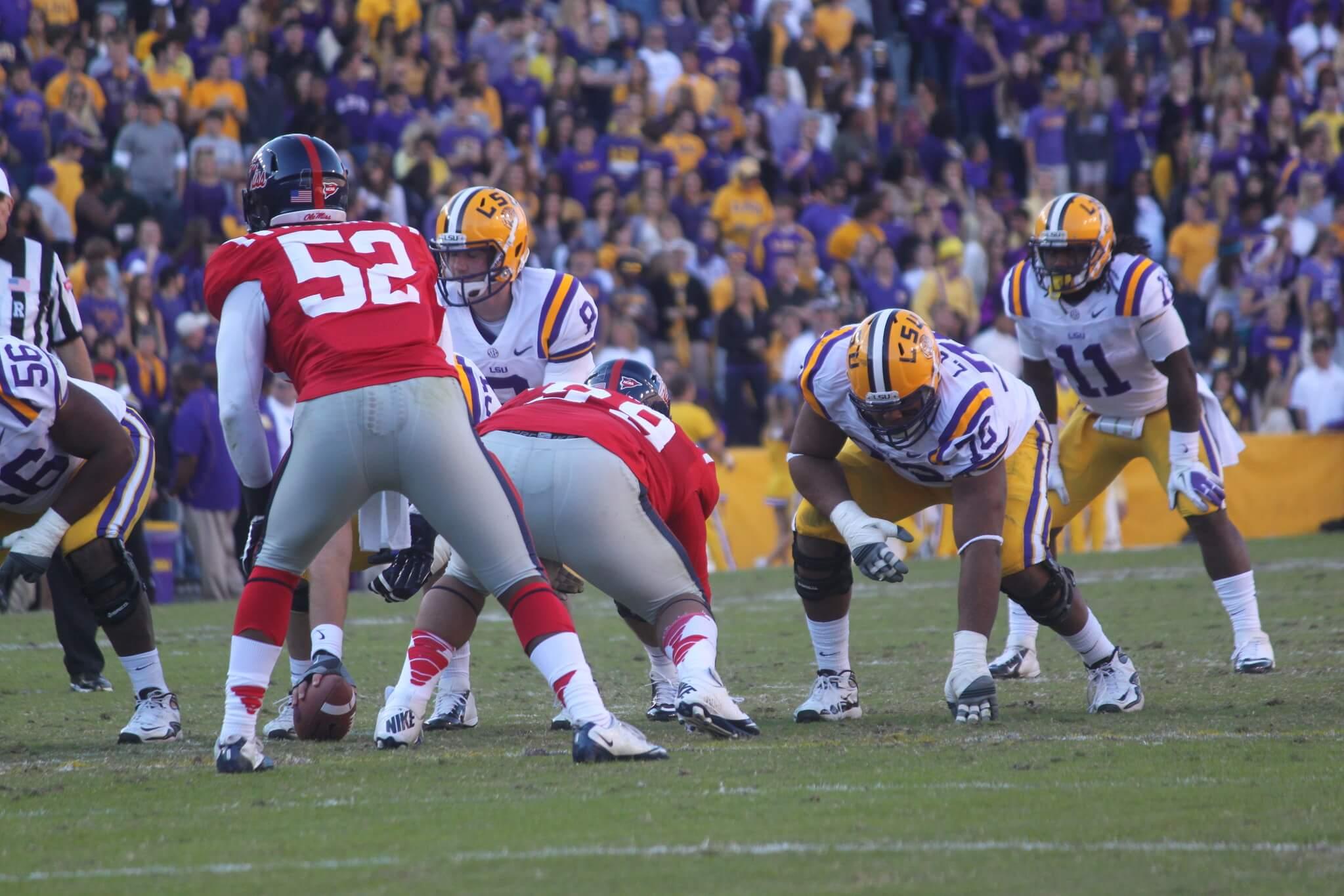 LSU vs Ole Miss Magnolia Bowl rivalry