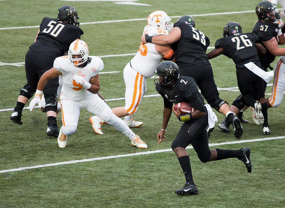 Tennessee vs Vanderbilt rivalry