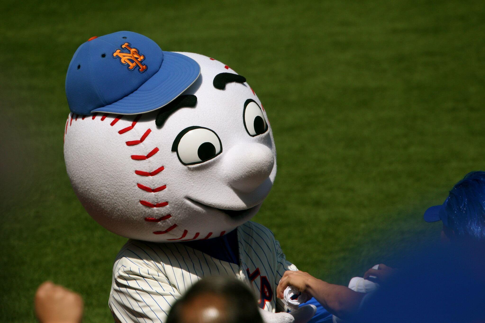 Mr Met New York Mets mascot
