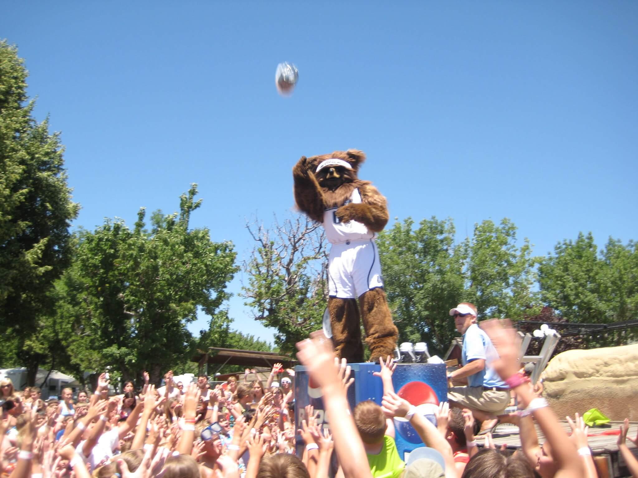 Jazz Bear Utah Jazz mascot