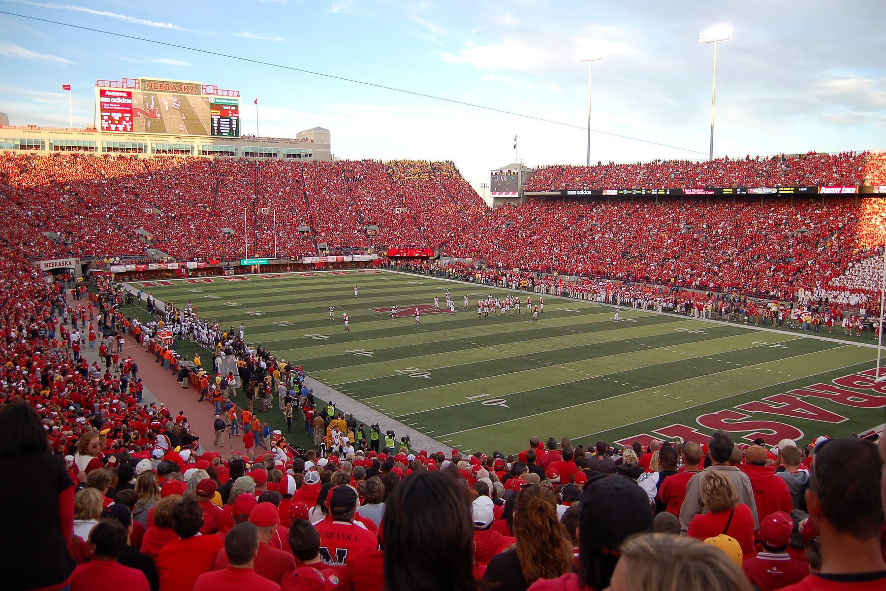 Memorial Stadium Nebraska football
