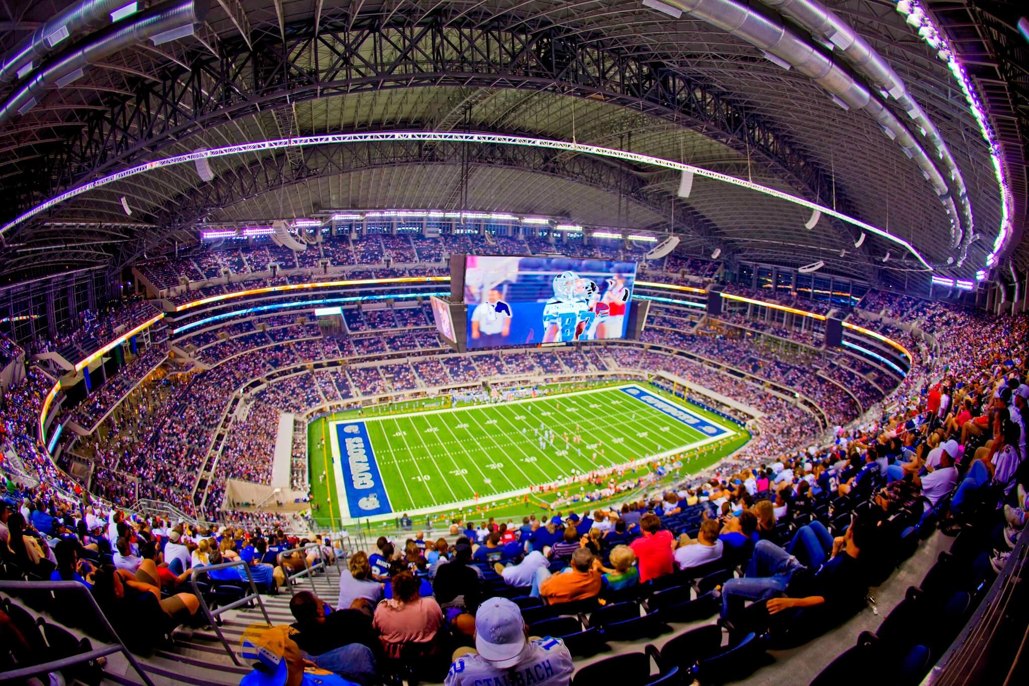 ATT Stadium football game