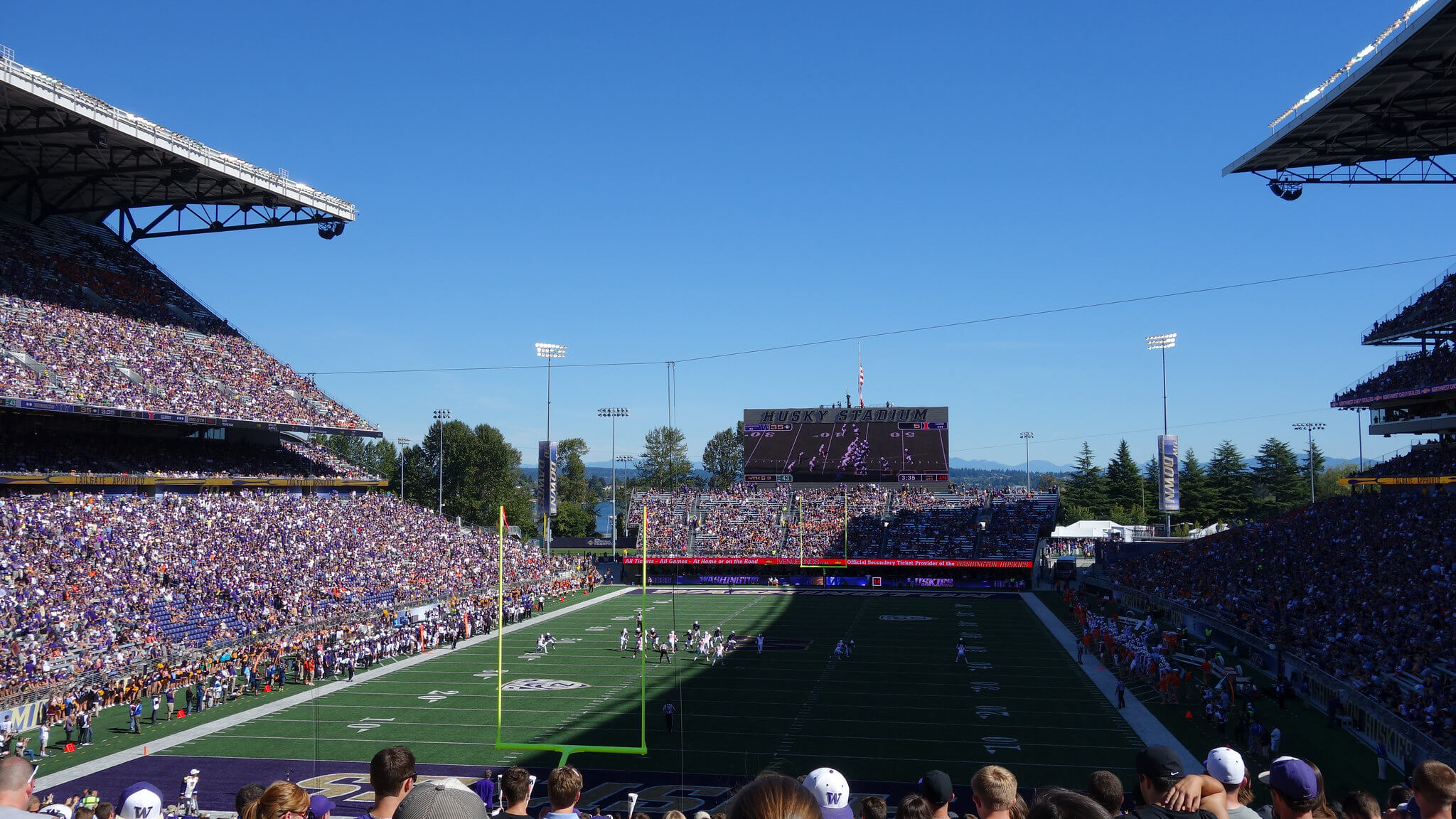 Husky Stadium football game