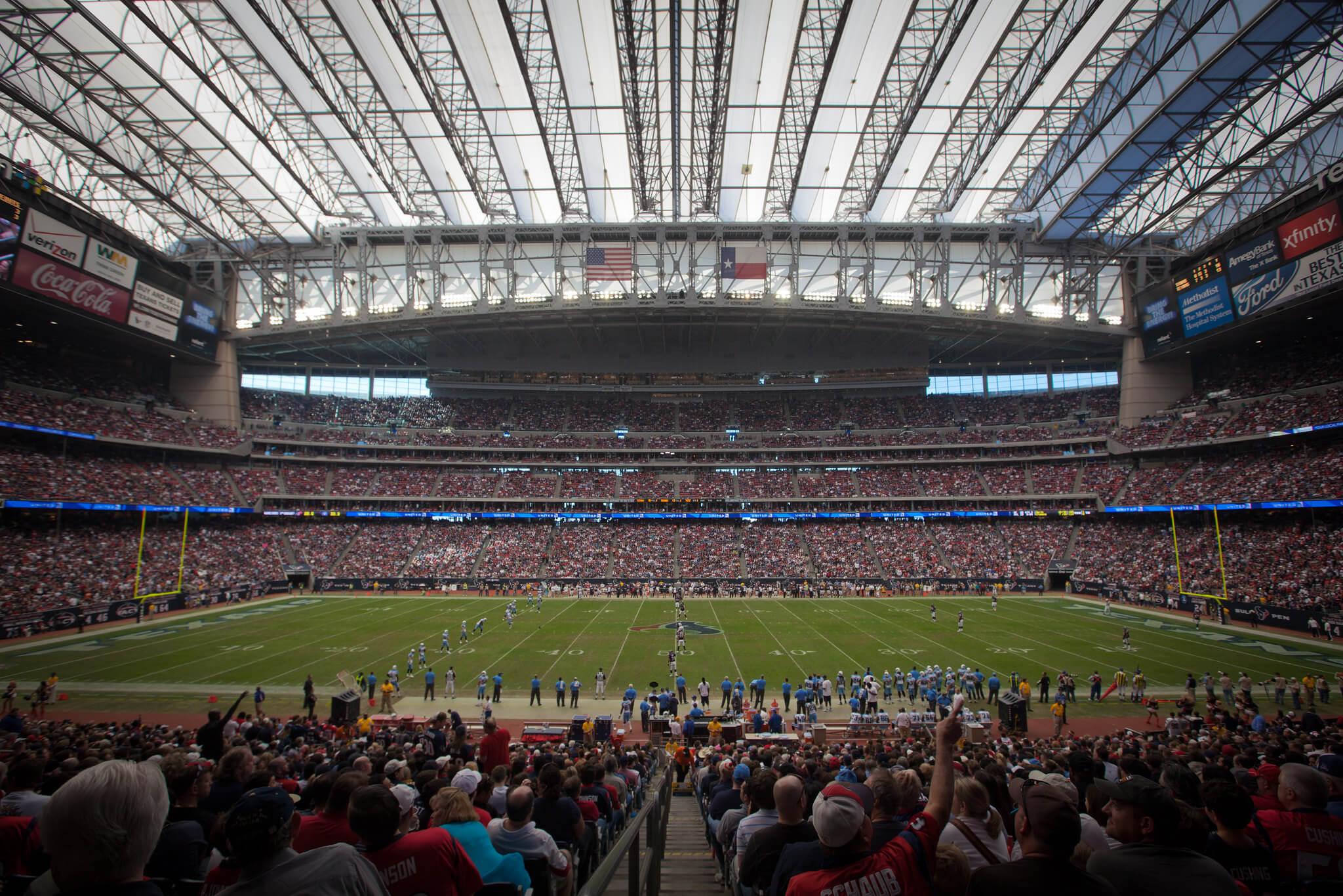 NRG Stadium football game