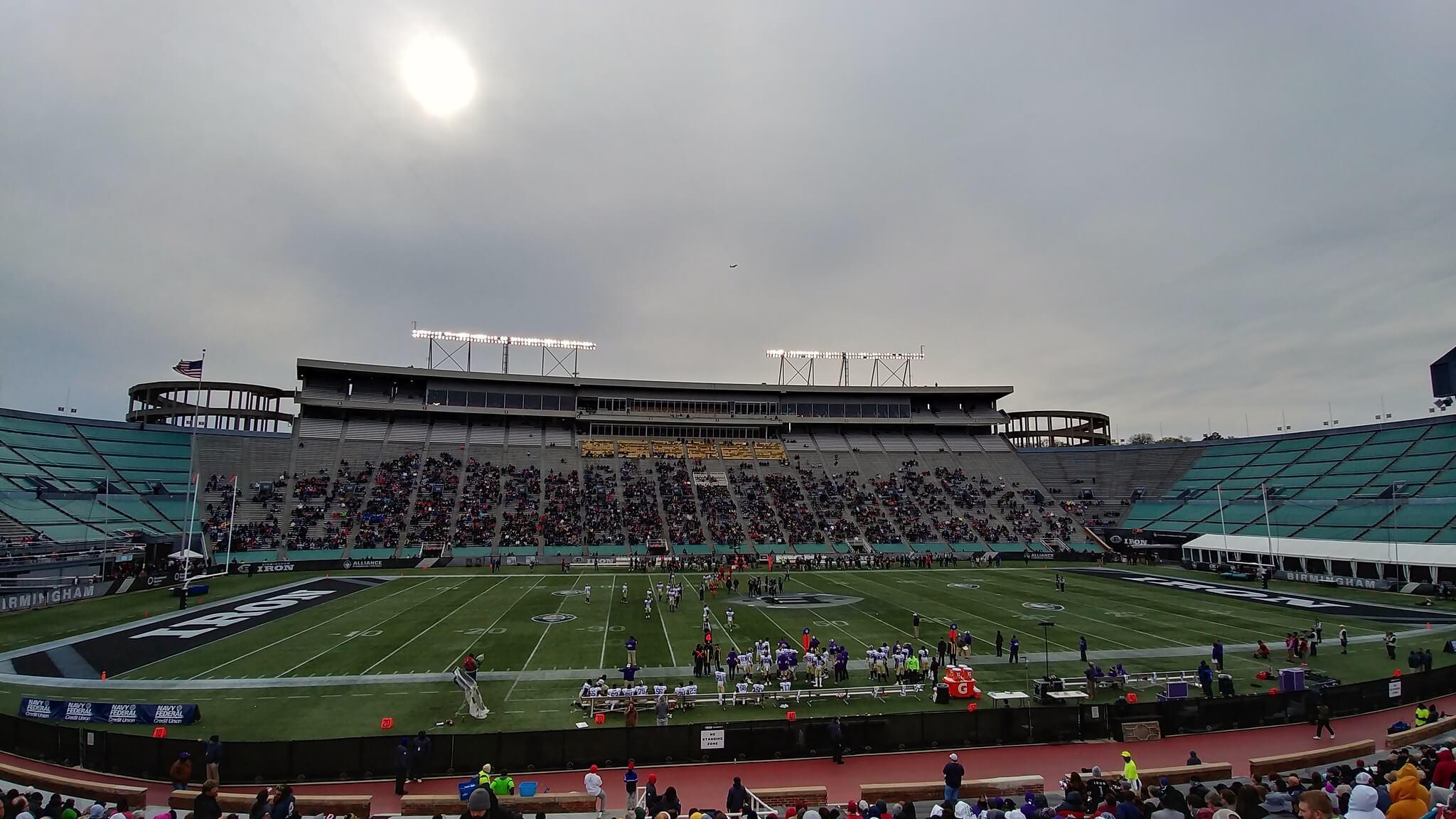 Legion Field football game