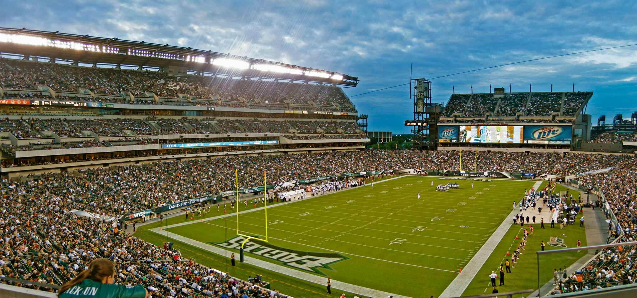 Lincoln Financial Field football game