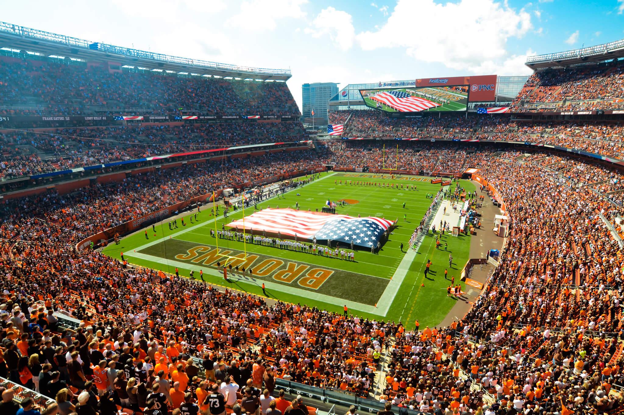 FirstEnergy Stadium football game
