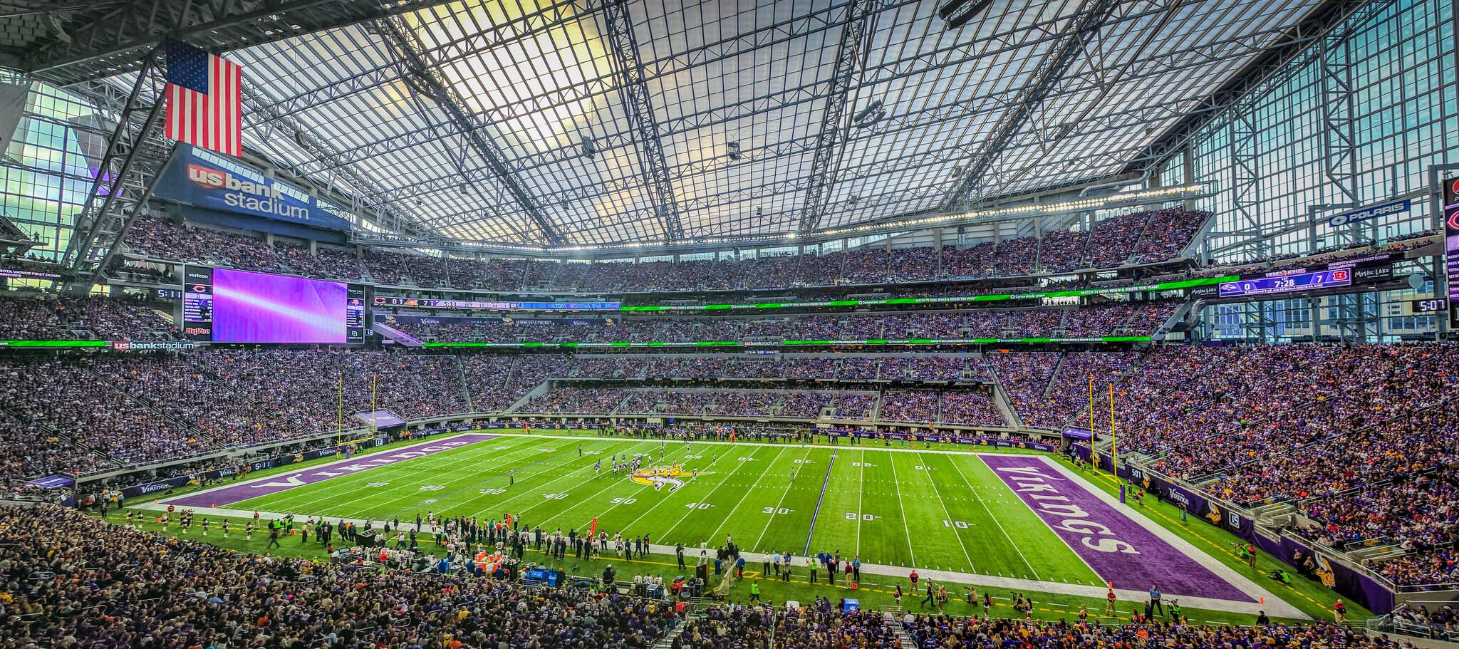 US Bank Stadium football game