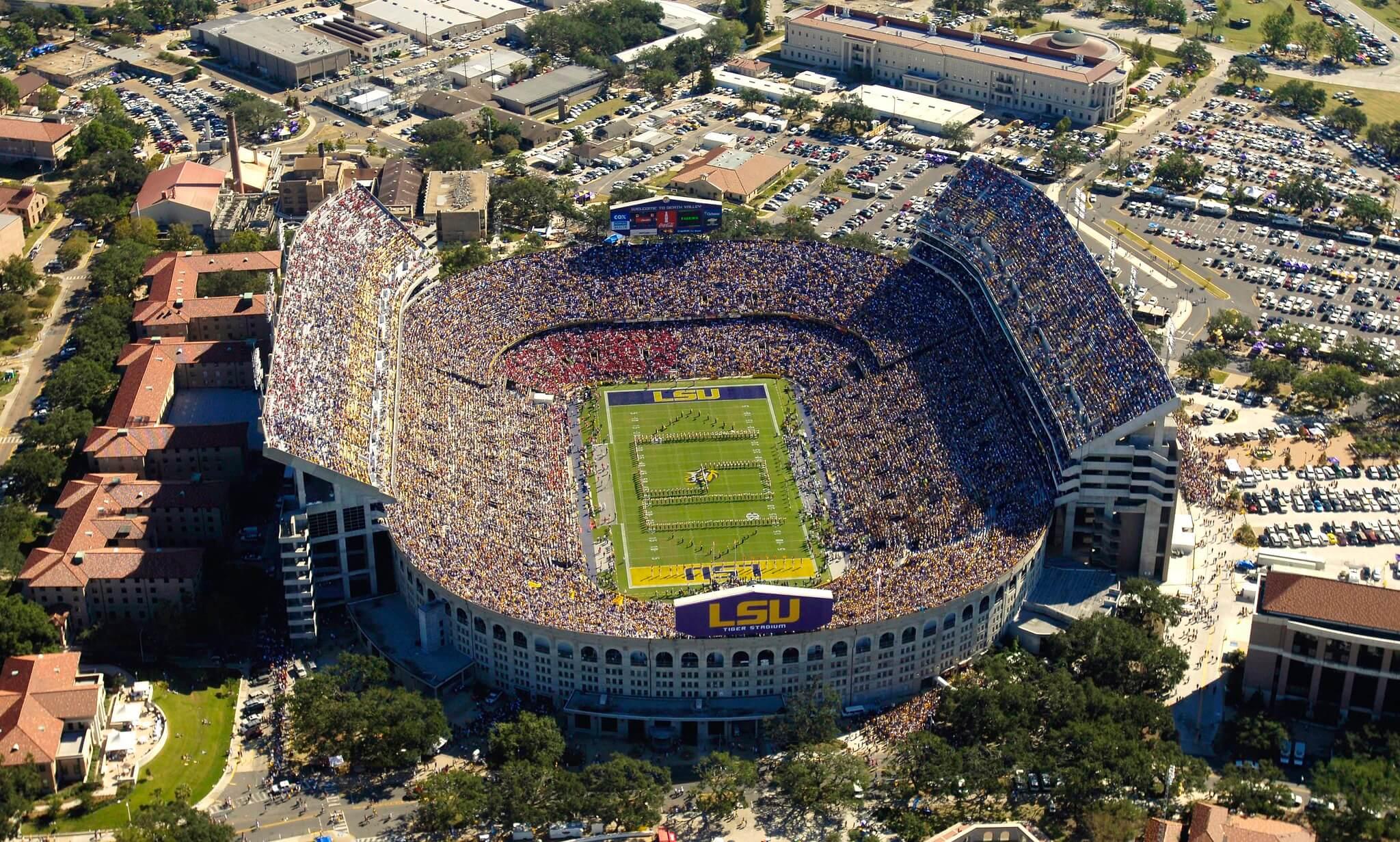 Tiger Stadium football
