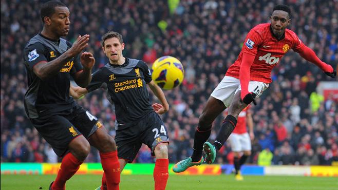 Manchester United vs Liverpool UEFA rivalry