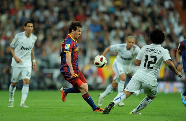 Real Madrid vs Barcelona UEFA rivalry