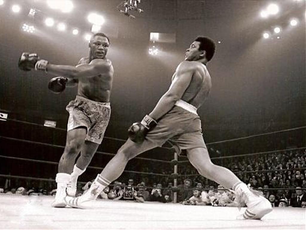 Joe Frazier vs Muhammad Ali Boxing rivalry