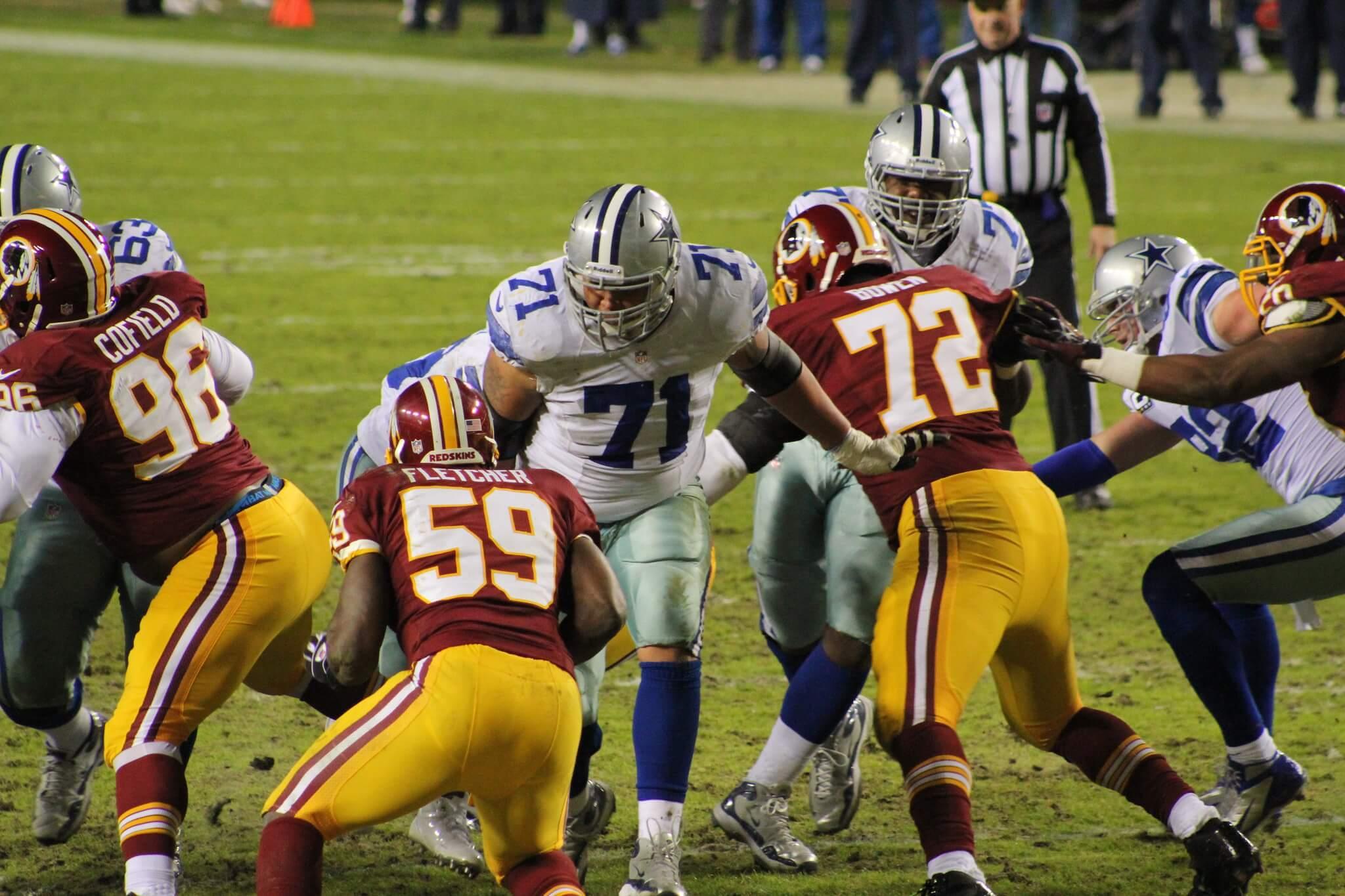 Dallas Cowboys vs Washington Redskins NFL football rivalry