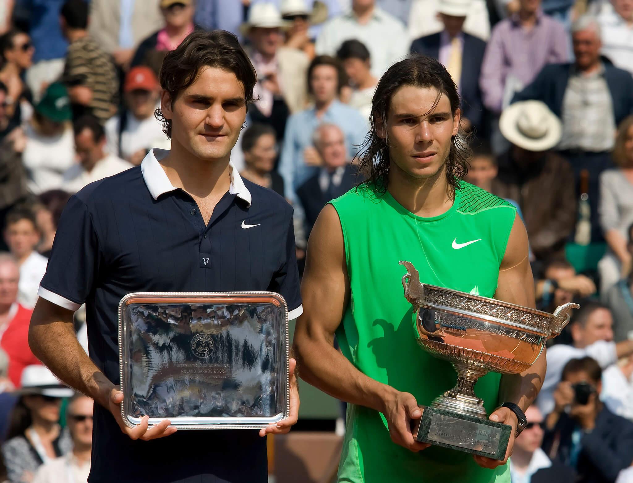 Rafael Nadal vs Roger Federer Tennis rivalry