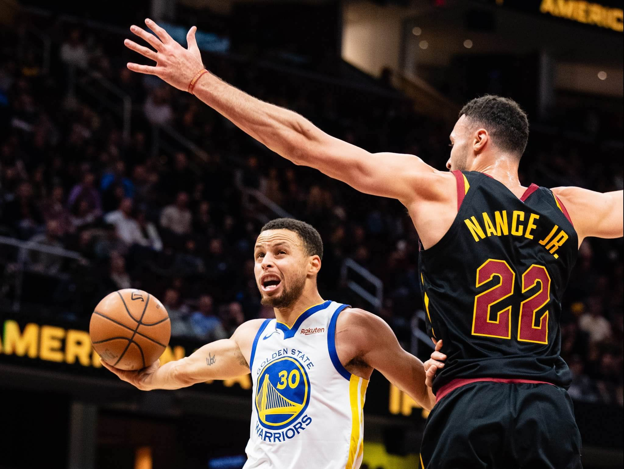 Golden State Warriors vs Cleveland Cavaliers NBA basketball rivalry