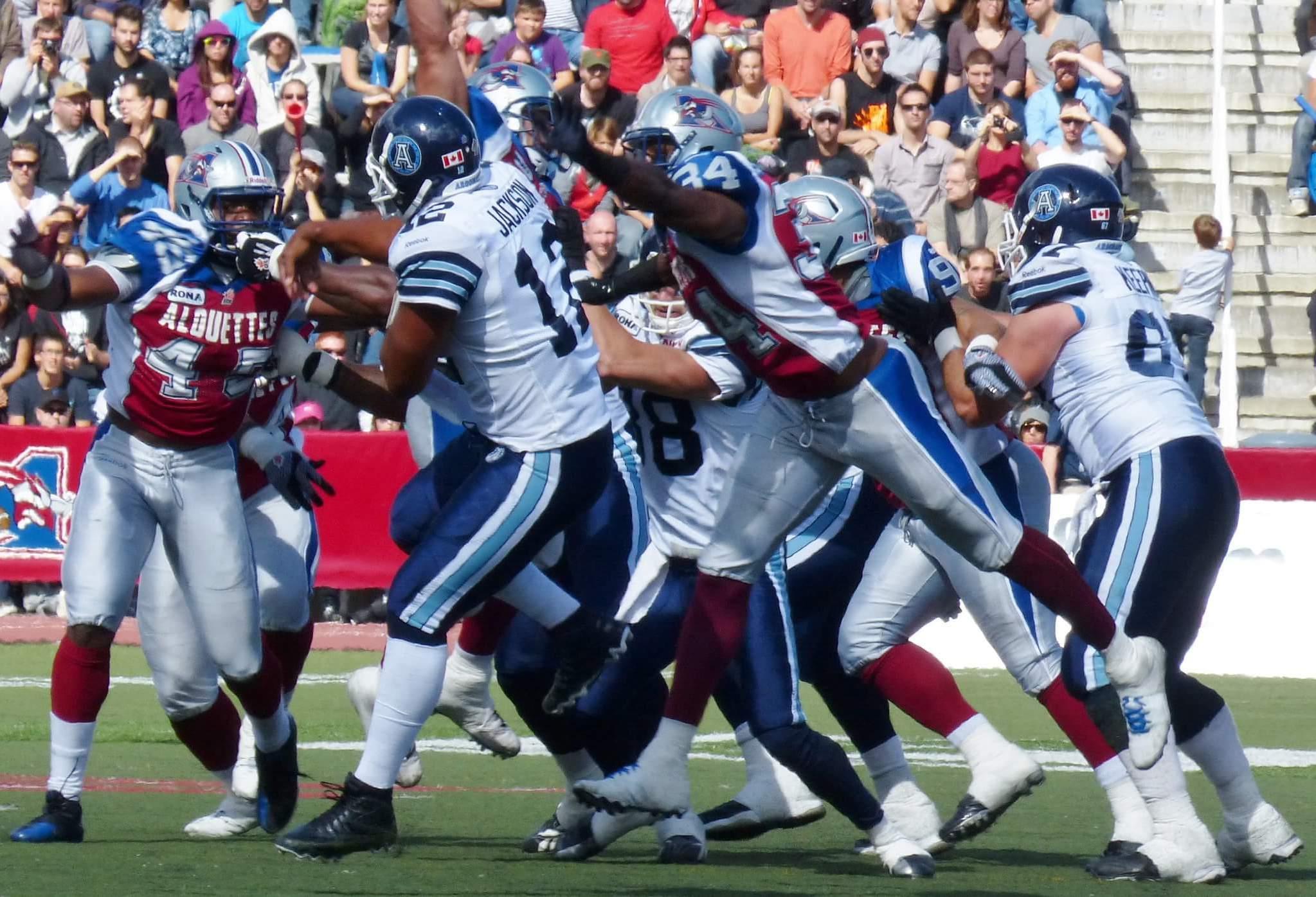 Toronto Argonauts vs Montreal Alouettes CFL rivalry