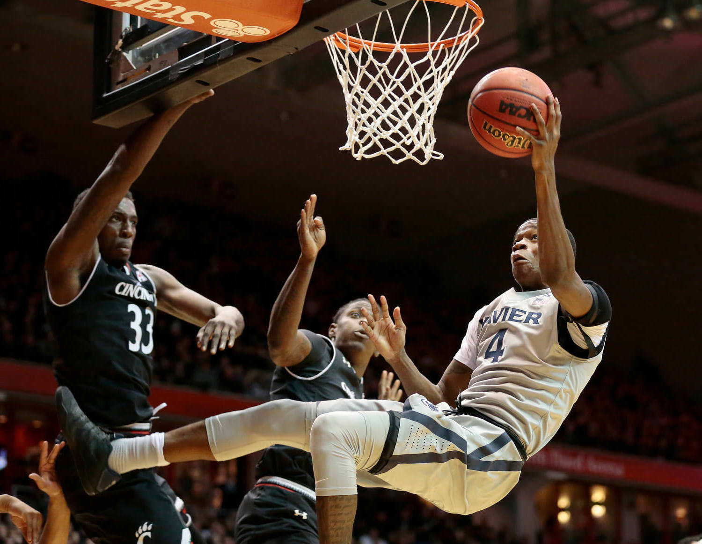 Cincinnati Bearcats vs Xavier Musketeers NCAAB Crosstown Classic basketball rivalry