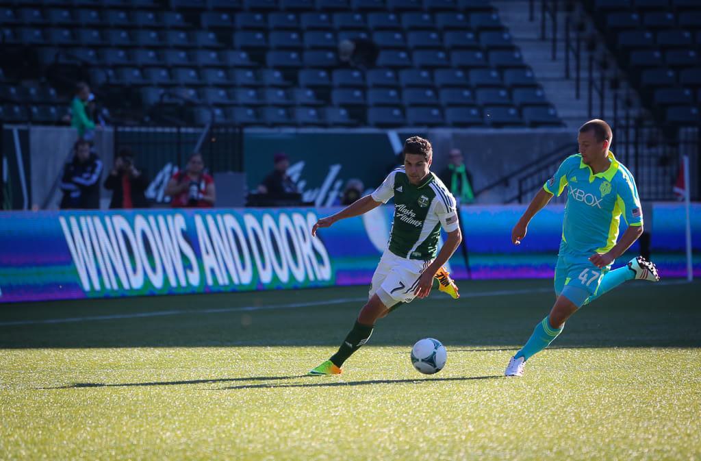 Seattle Sounders vs Portland Timbers MLS rivalry