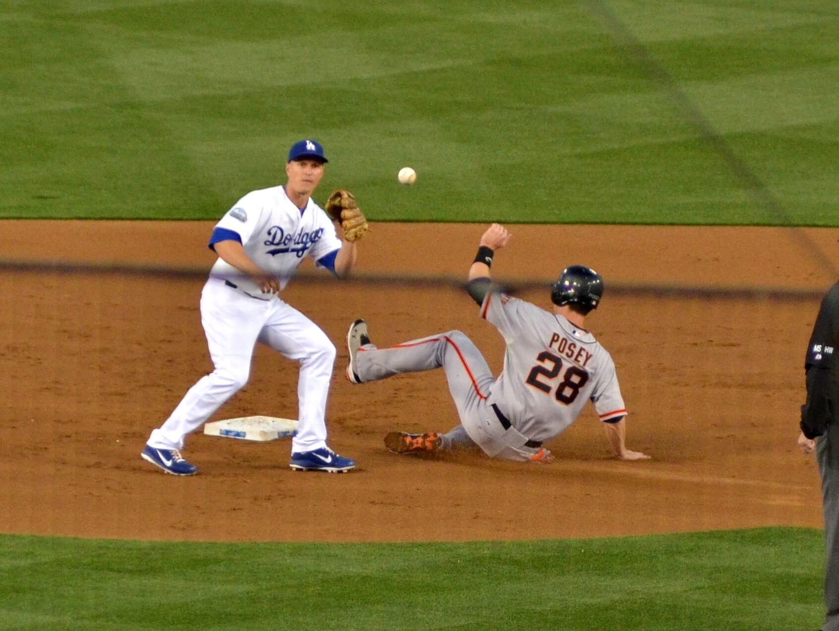 LA Dodgers vs SF Giants MLB baseball rivalry
