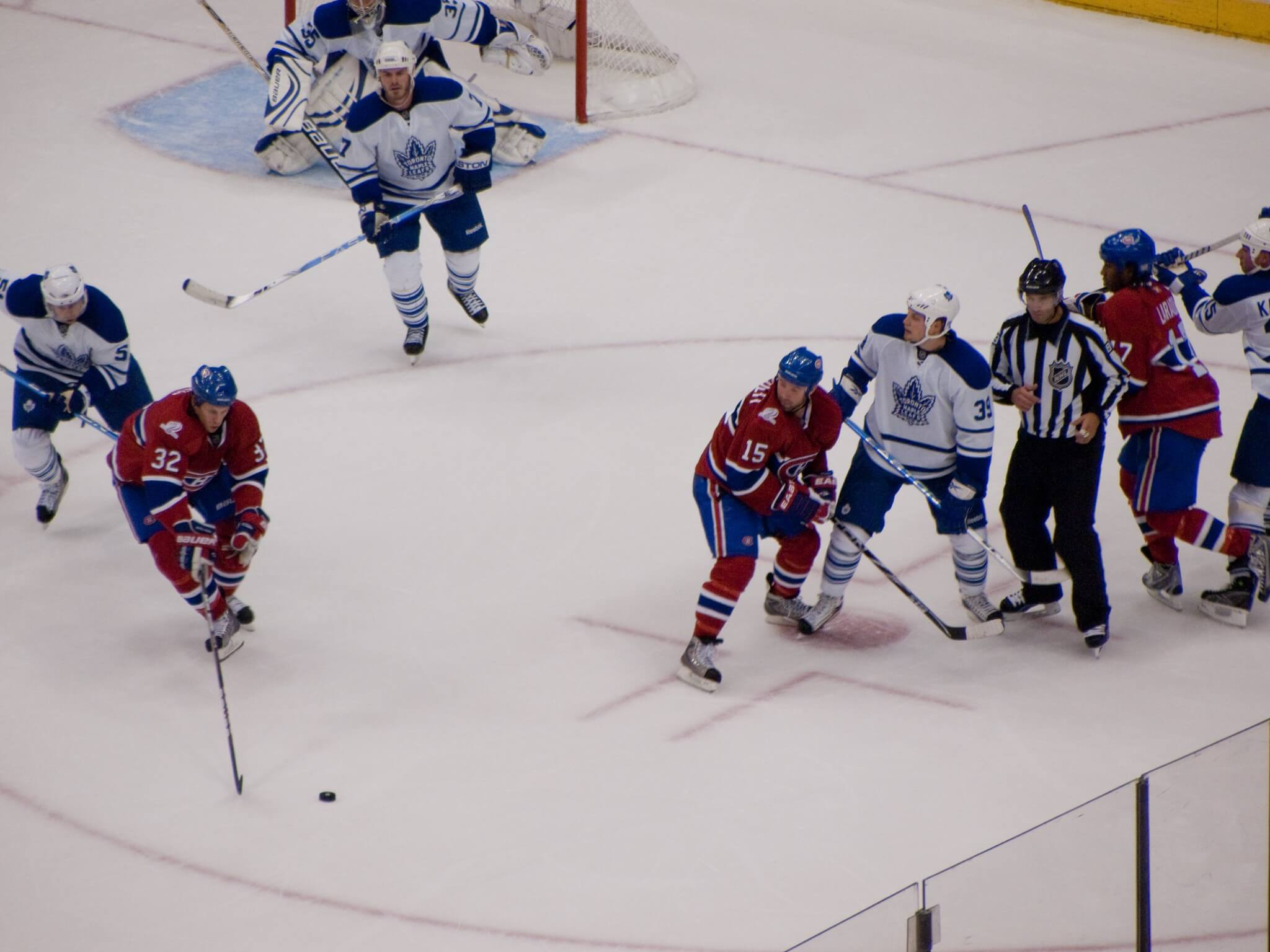 Montreal Canadiens vs Toronto Maple Leafs NHL hockey rivalry