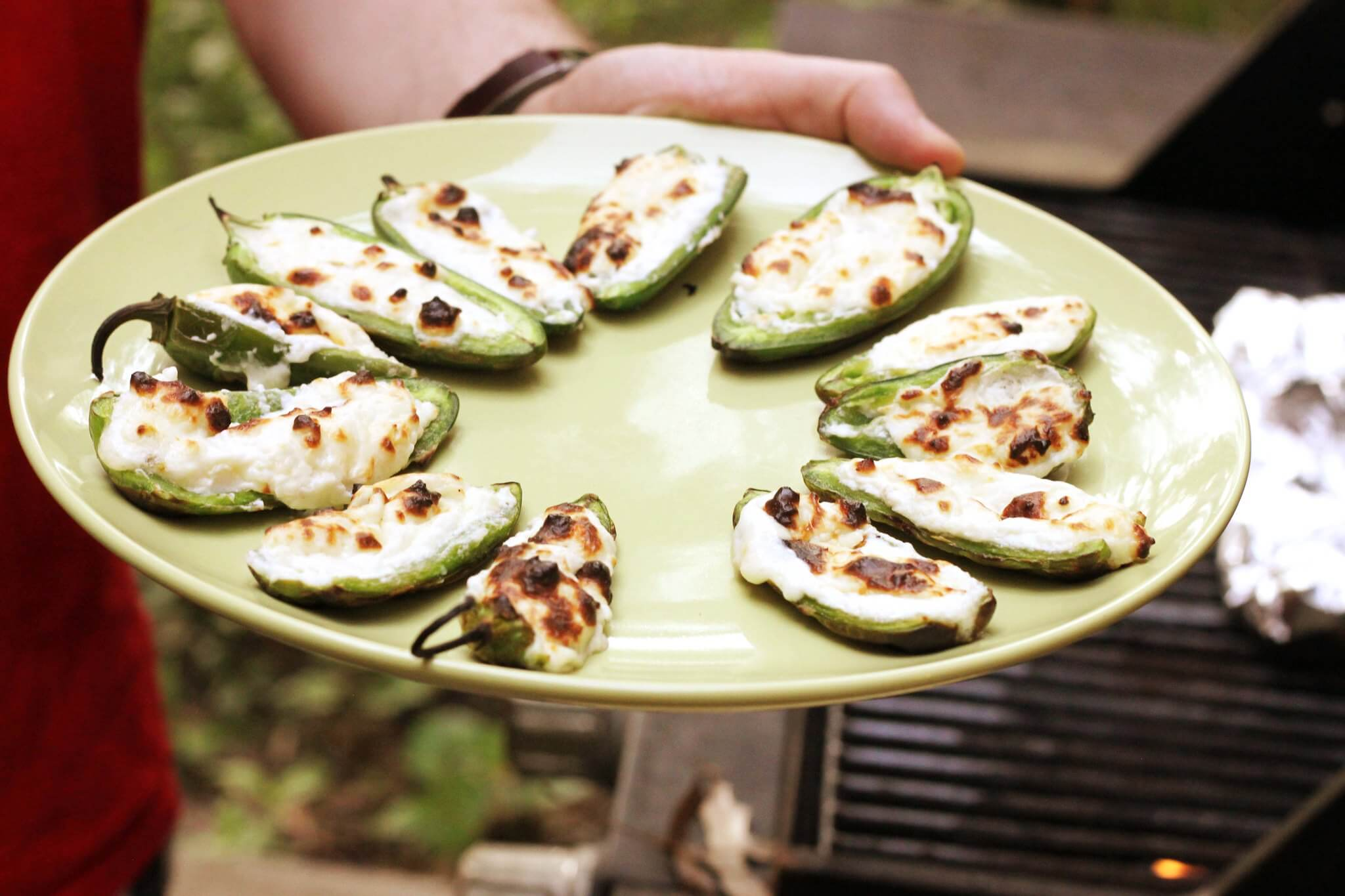 Pepper Poppers tailgate dish