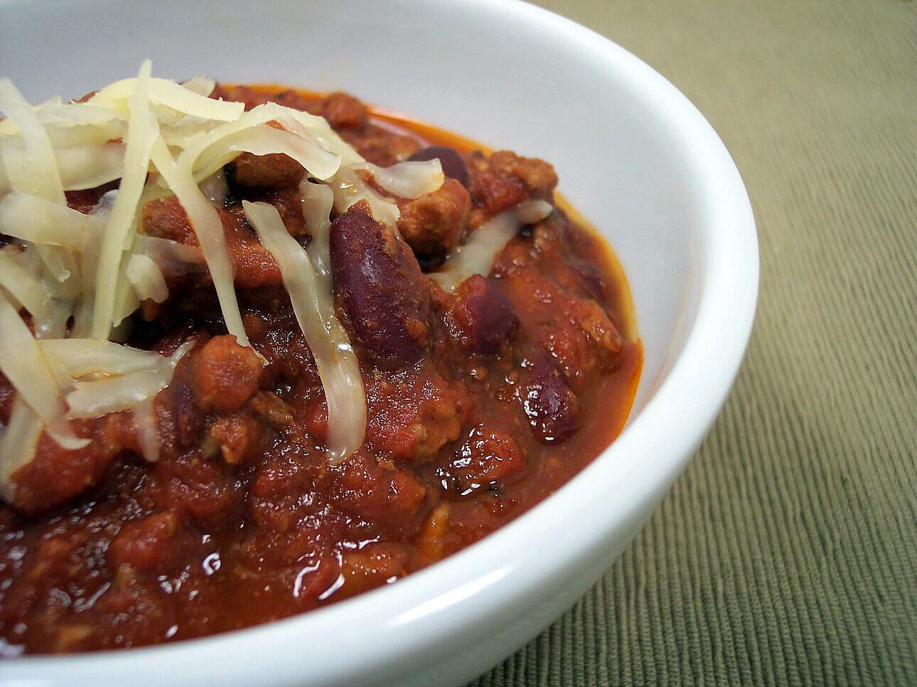 Chilis tailgate dish
