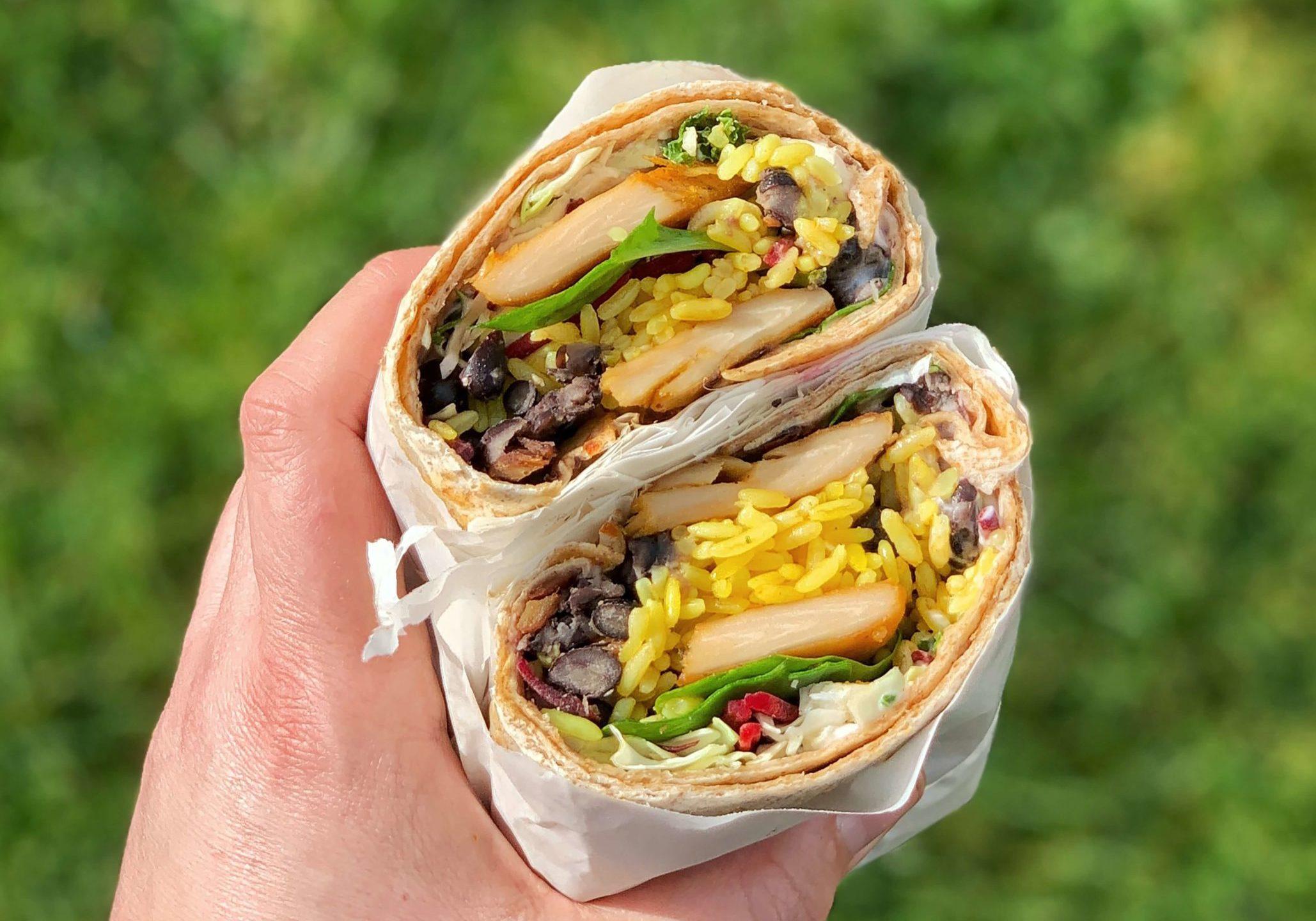 Burritos tailgate food
