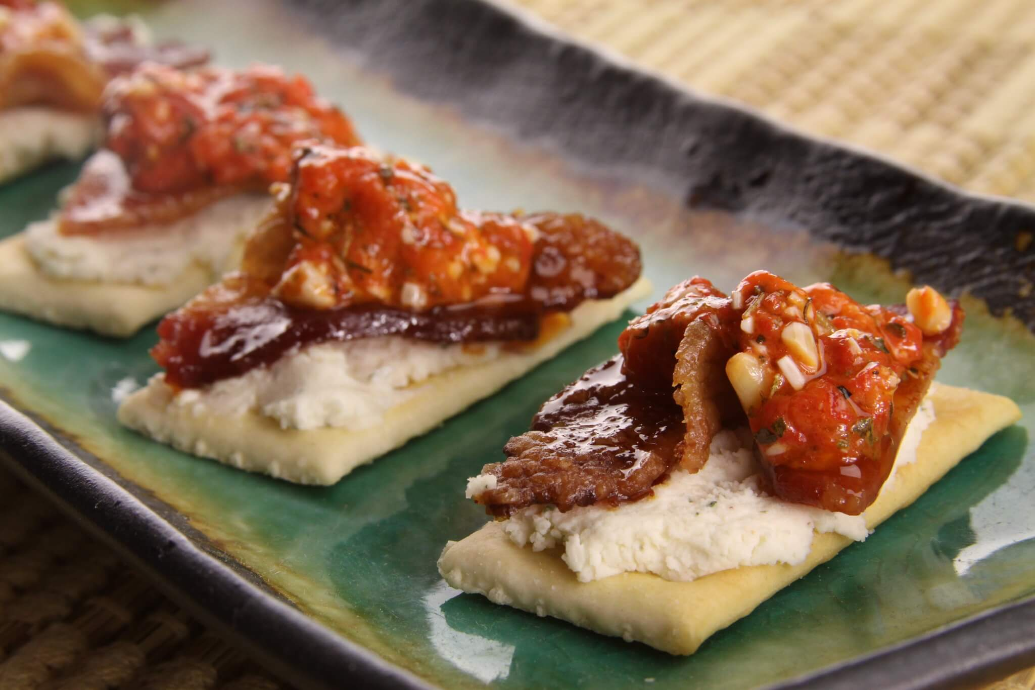 Bacon Crackers tailgate dish