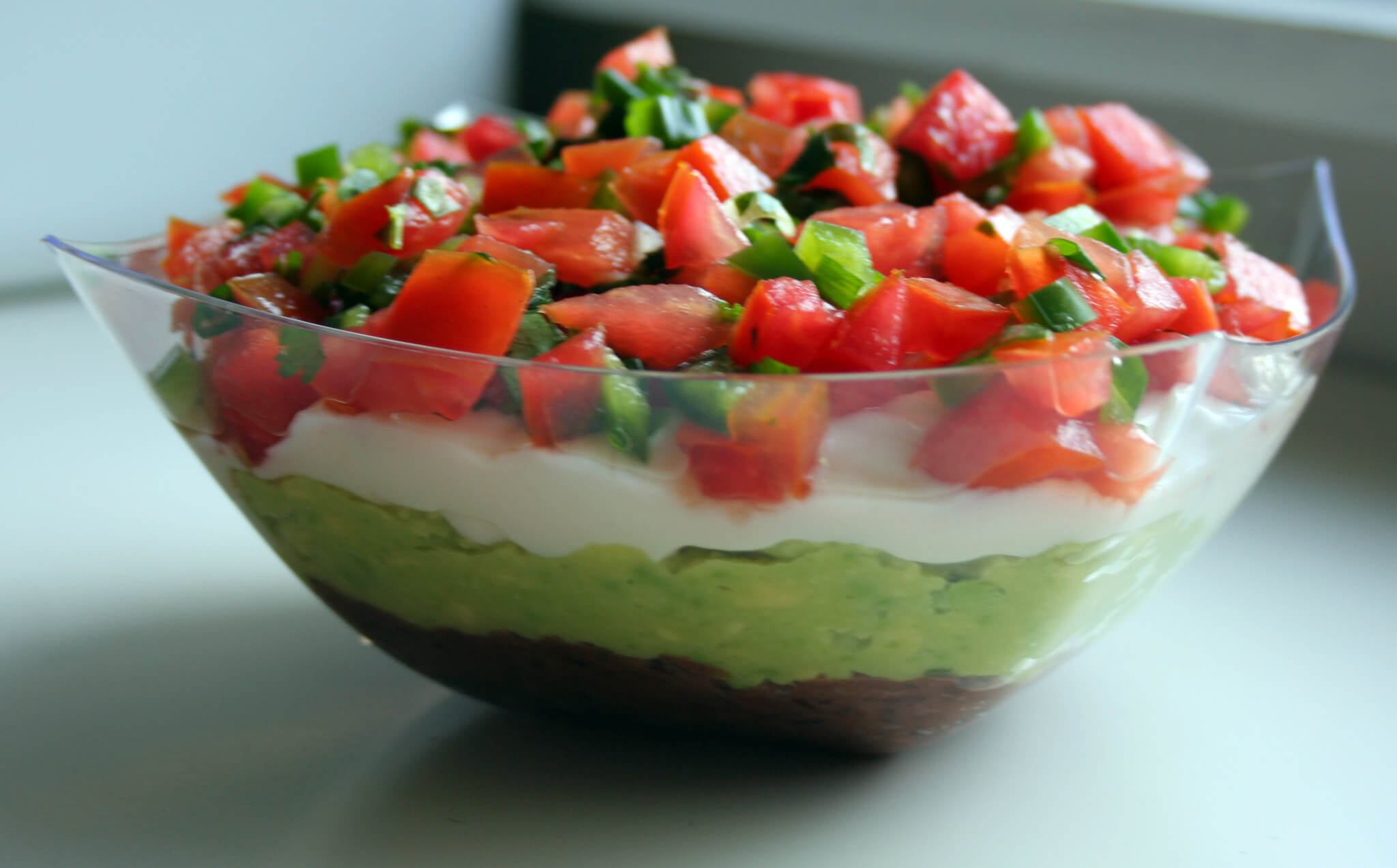 Seven Layer Dips tailgate dish