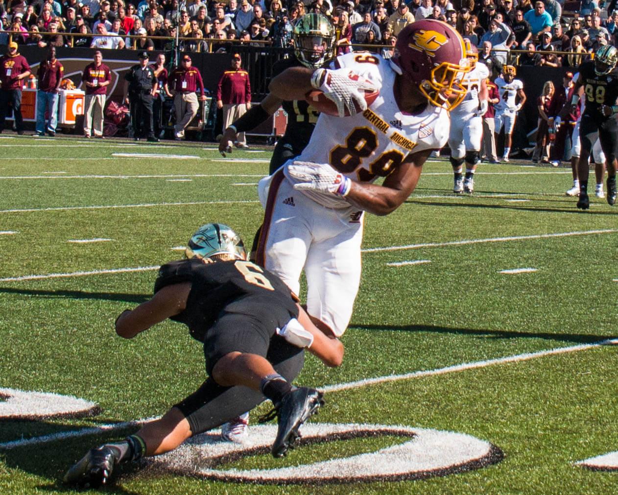 WMU vs CMU Victory Cannon rivalry