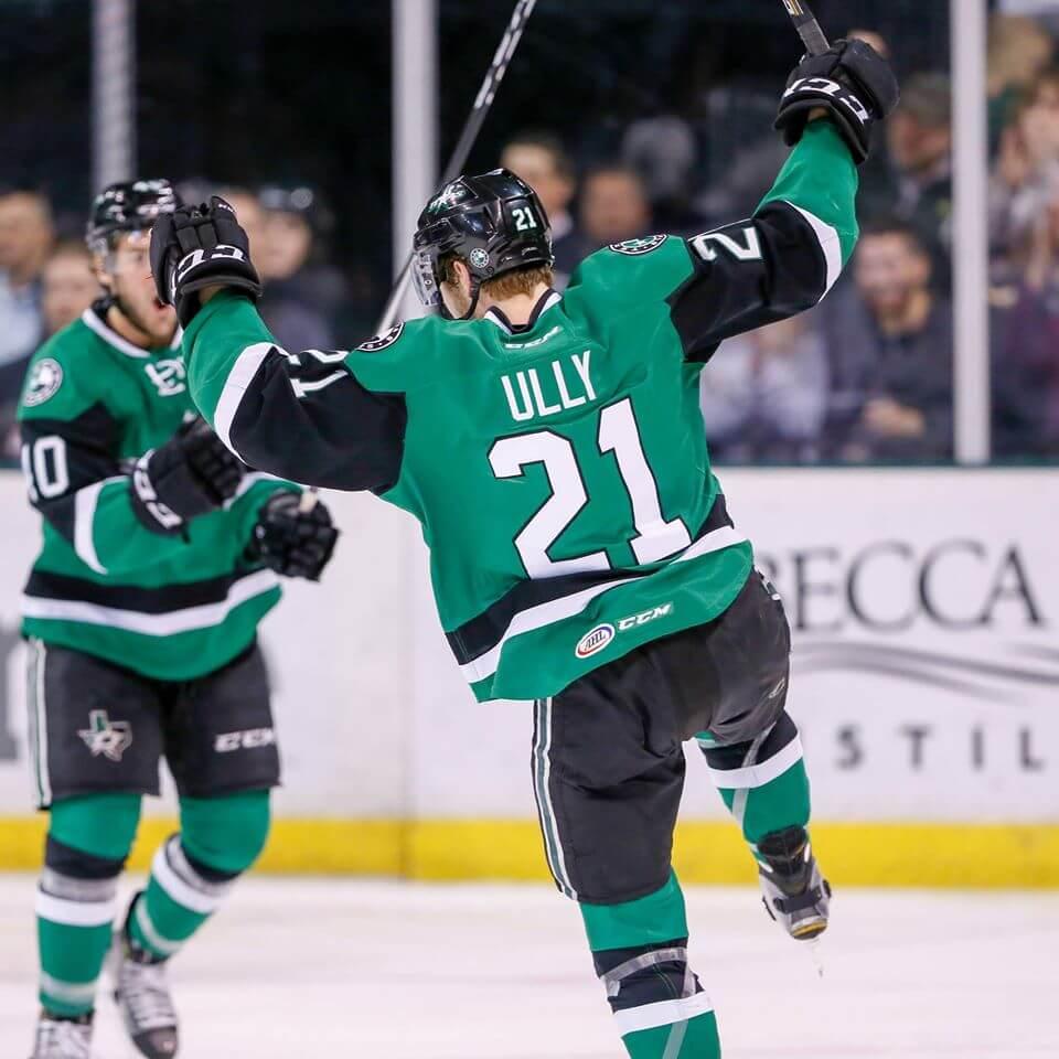 Texas Stars win victory hockey