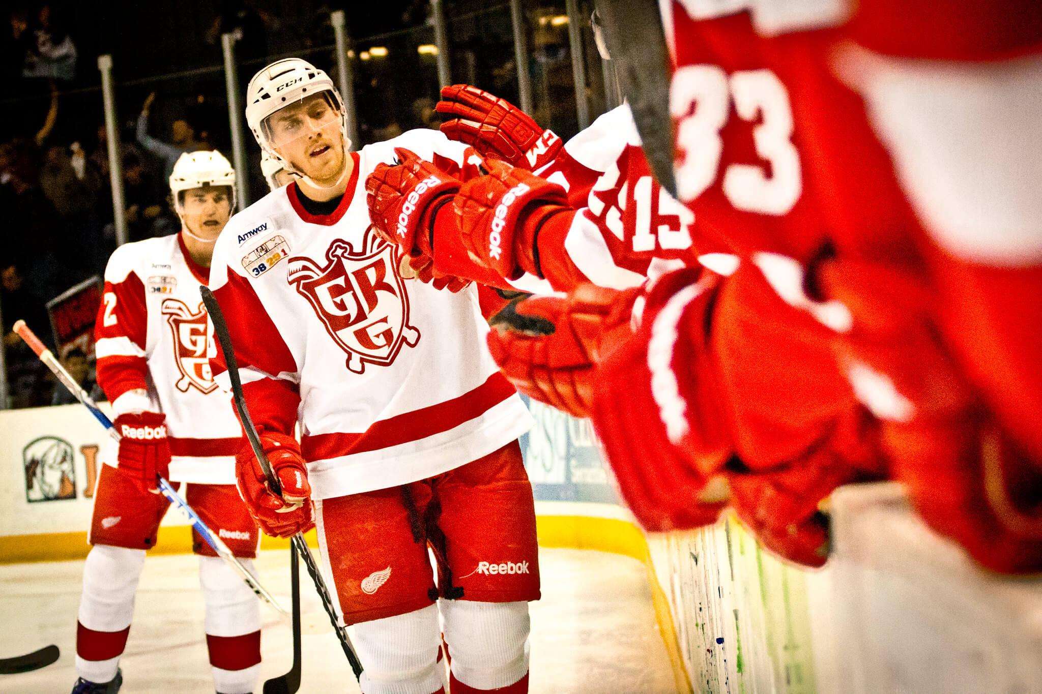 AHL Grand Rapids Griffins win hockey