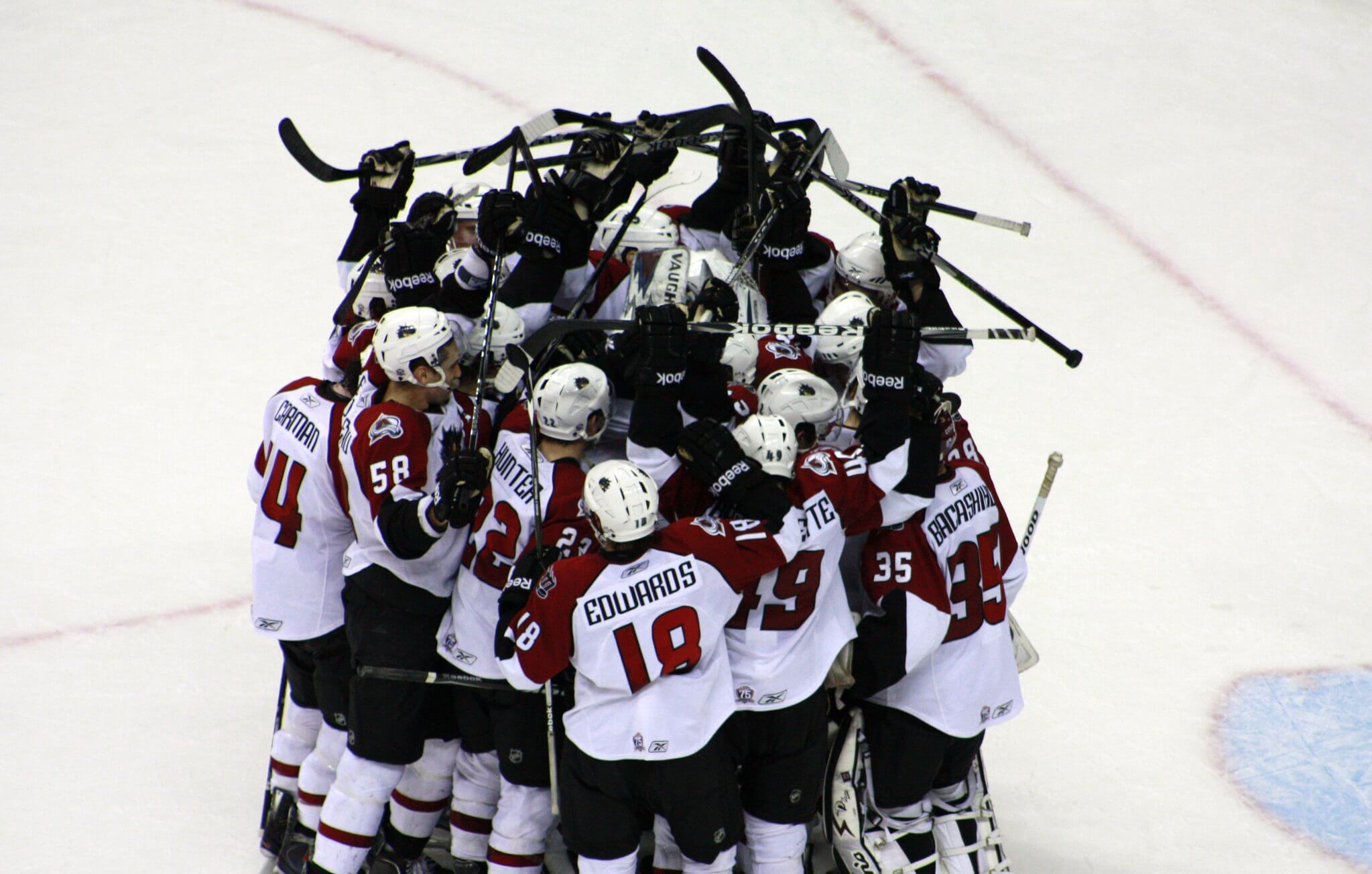 Cleveland Monsters win victory hockey