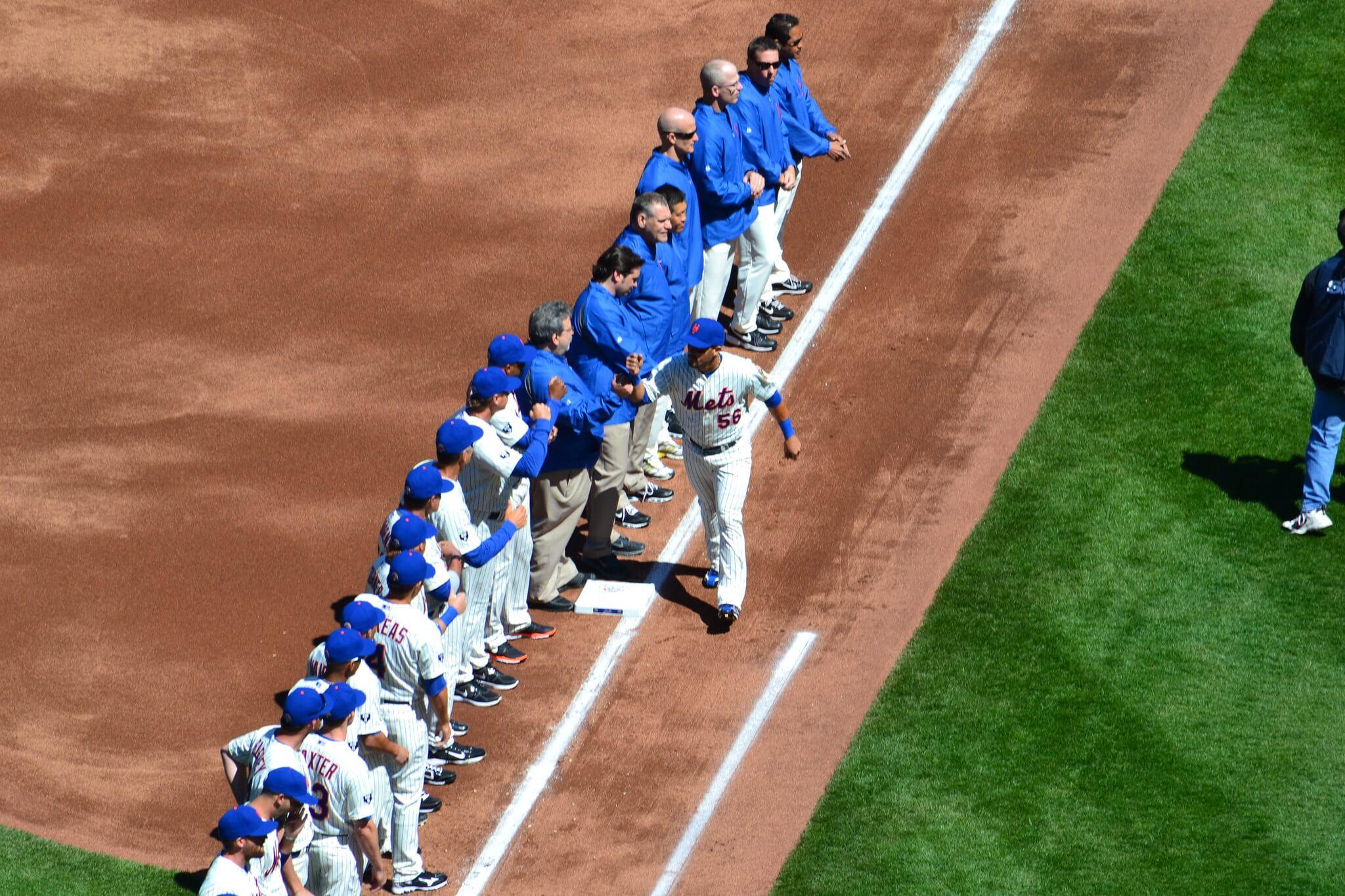 Mets baseball players