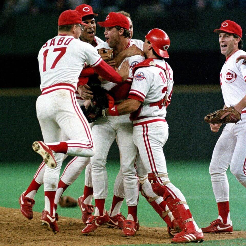 Cincinnati Reds baseball win victory