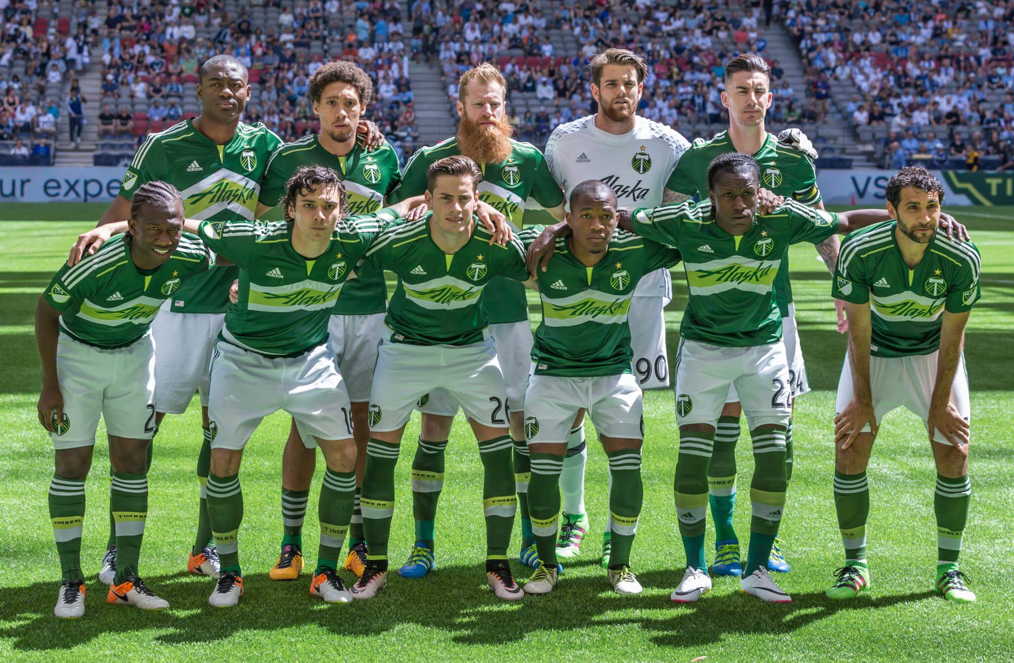 Portland Timbers soccer players