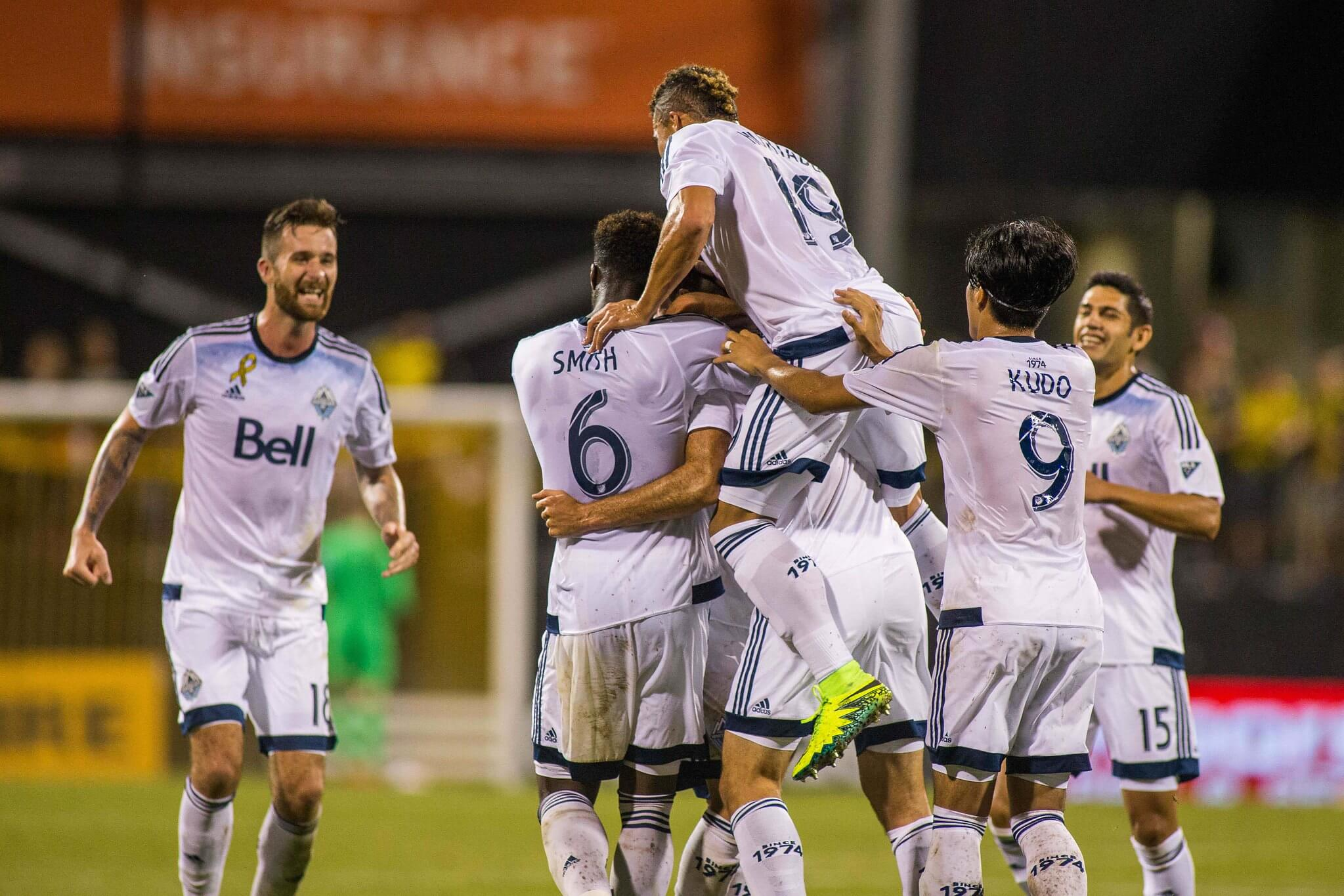 Vancouver Whitecaps soccer players