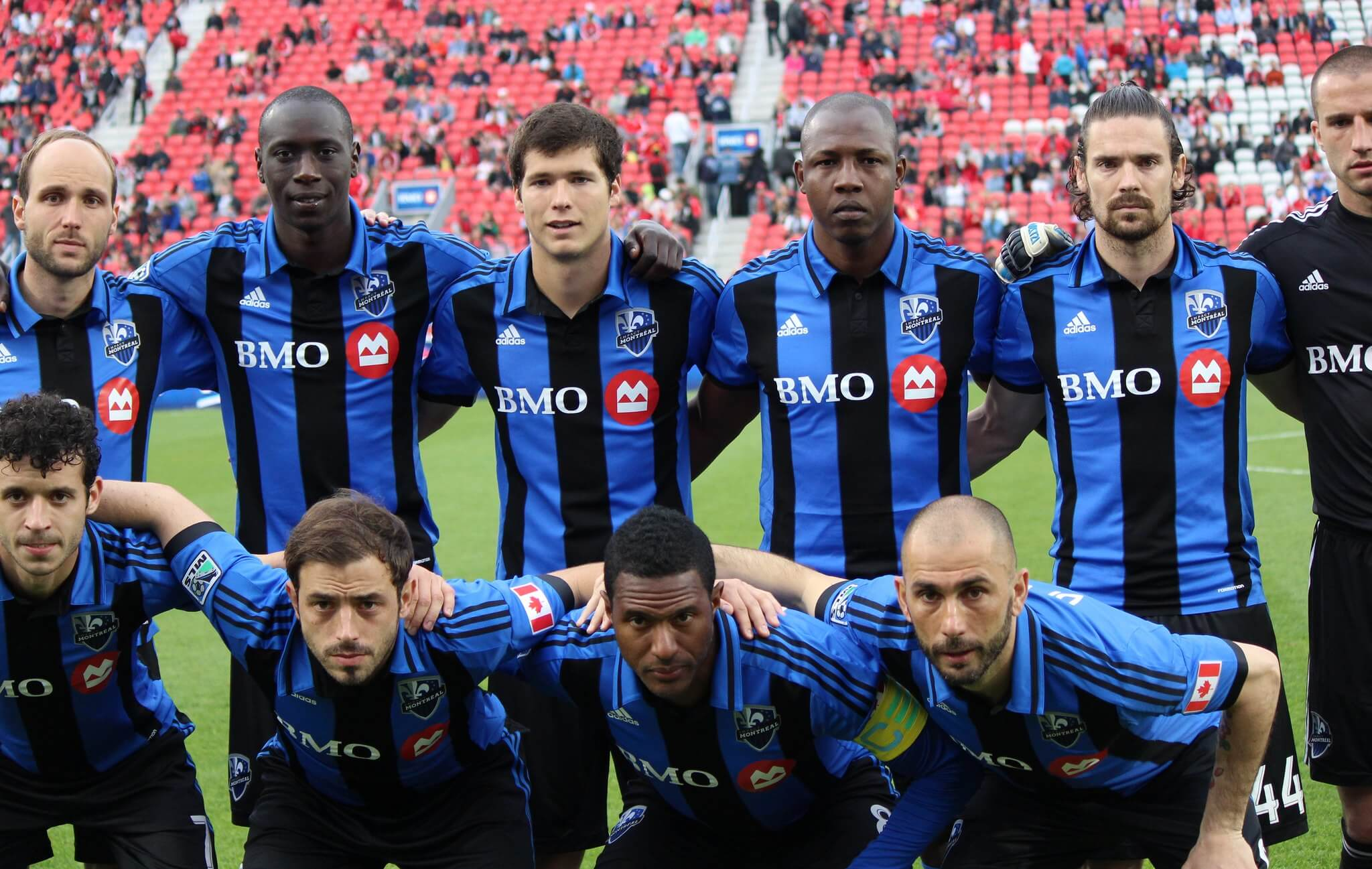 Montreal Impact soccer players