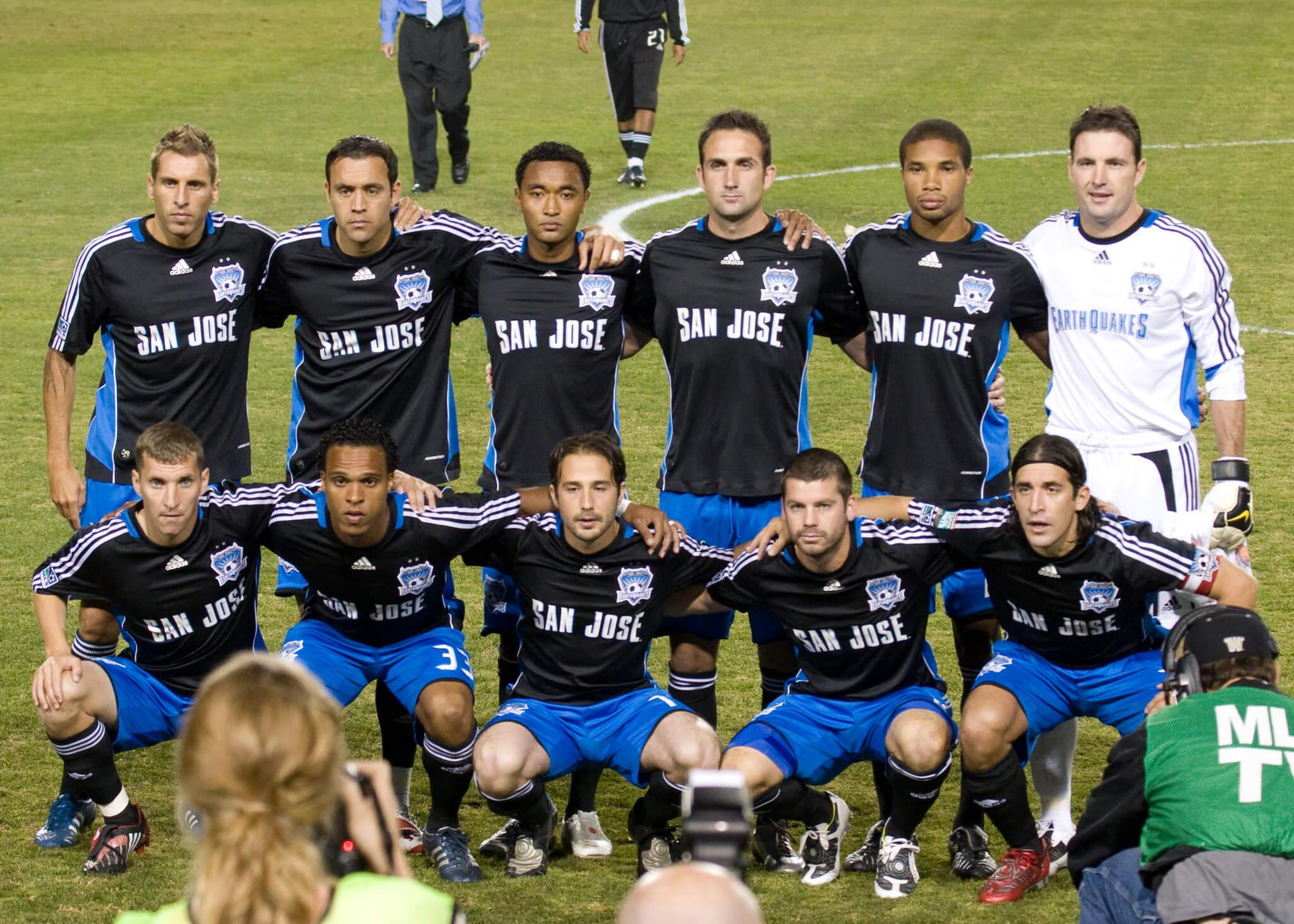 San Jose Earthquakes soccer players