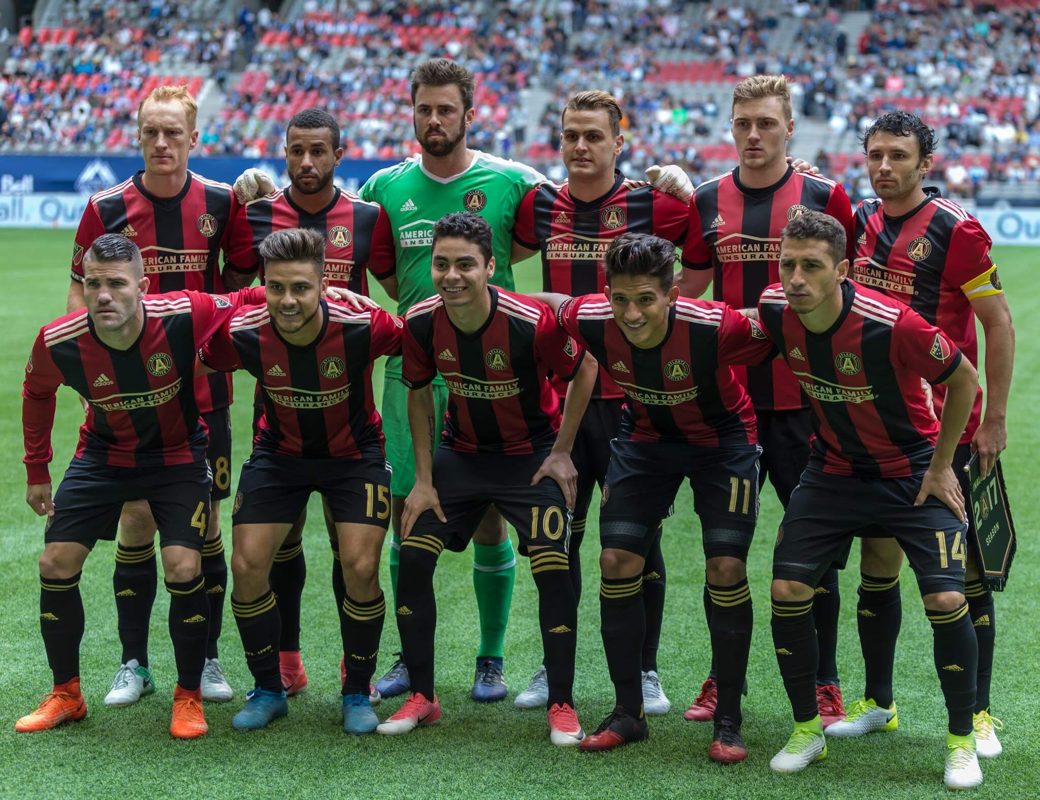Atlanta United FC soccer players