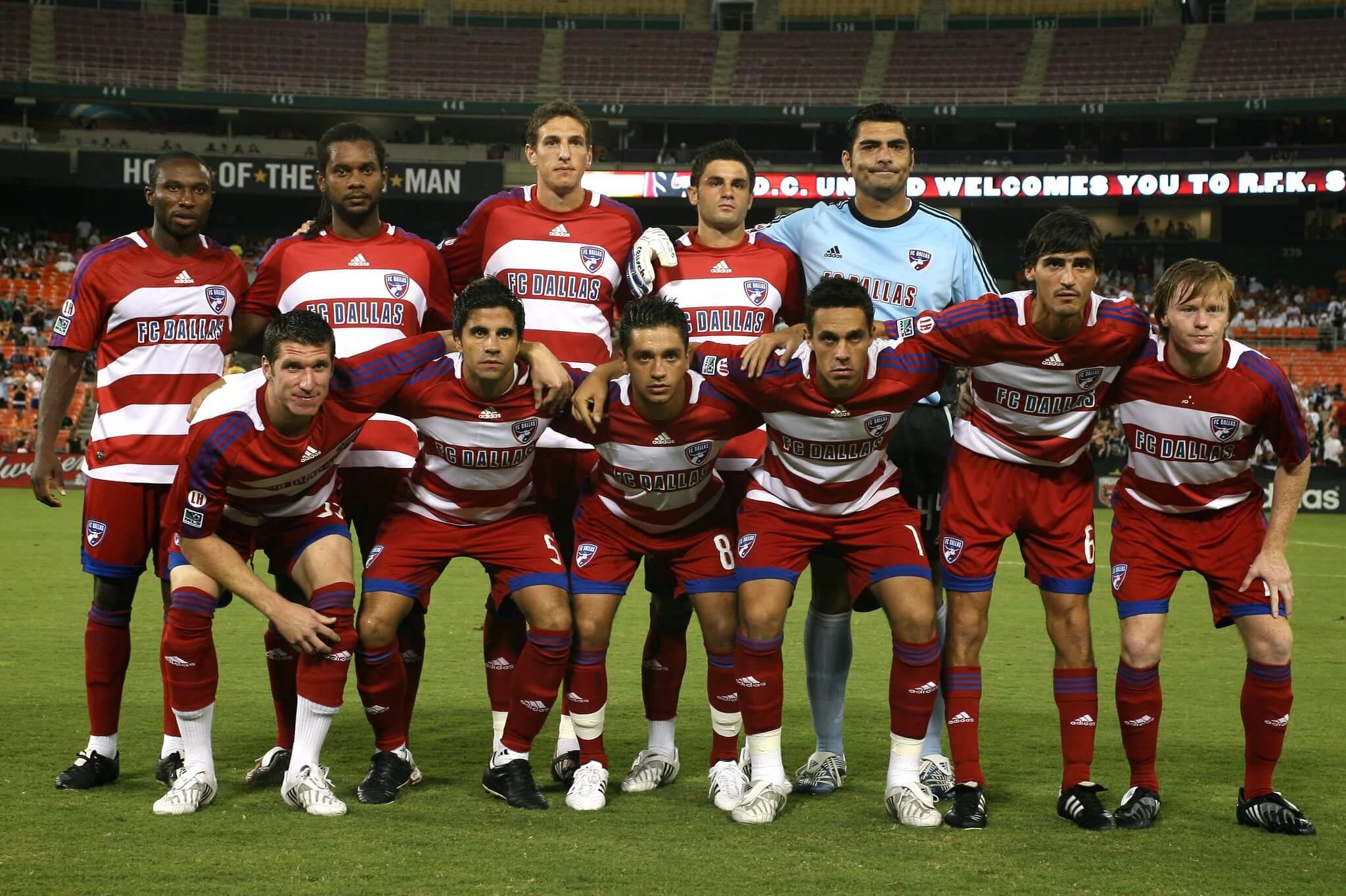 FC Dallas soccer players