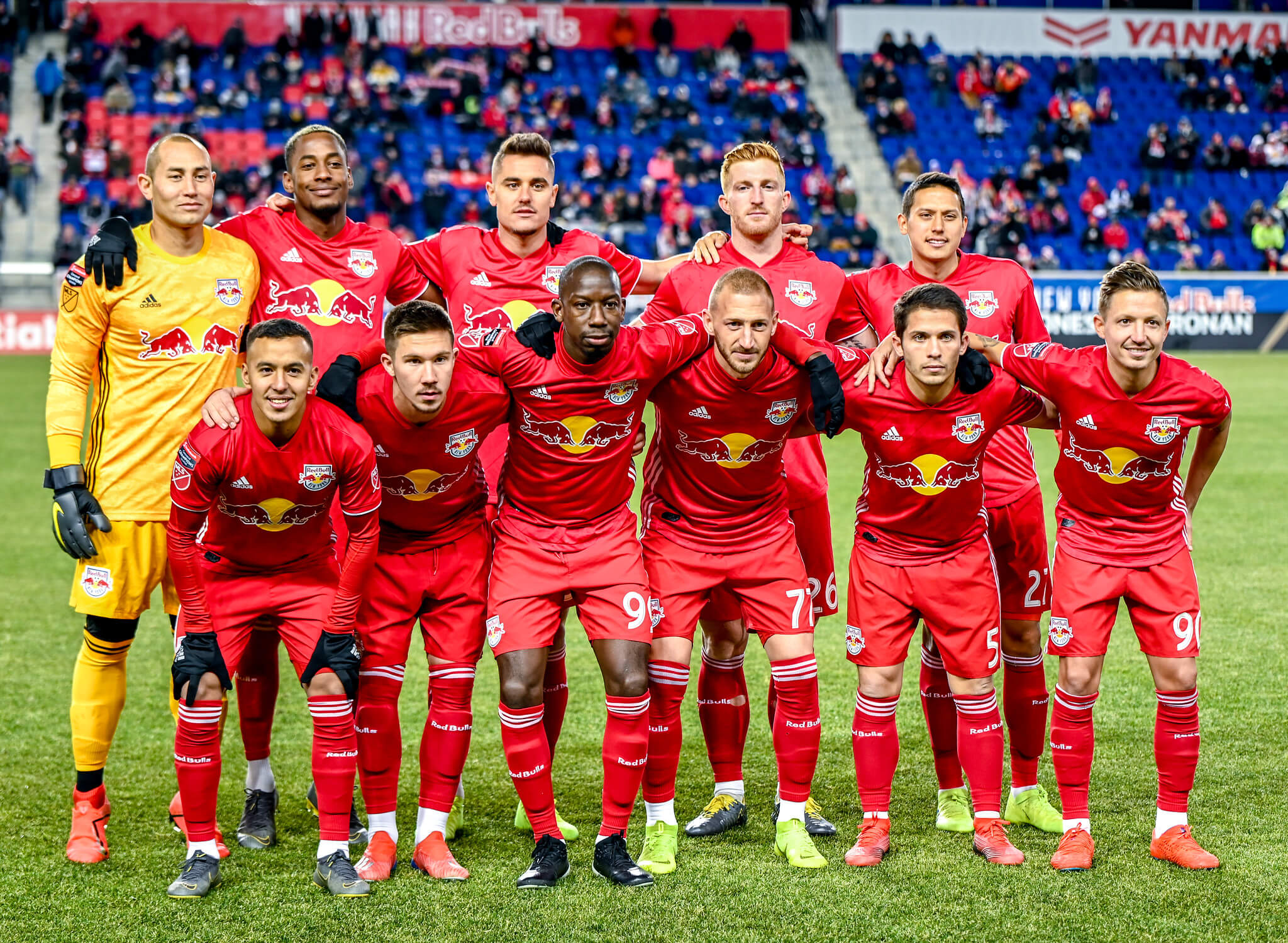 New York Red Bulls soccer players