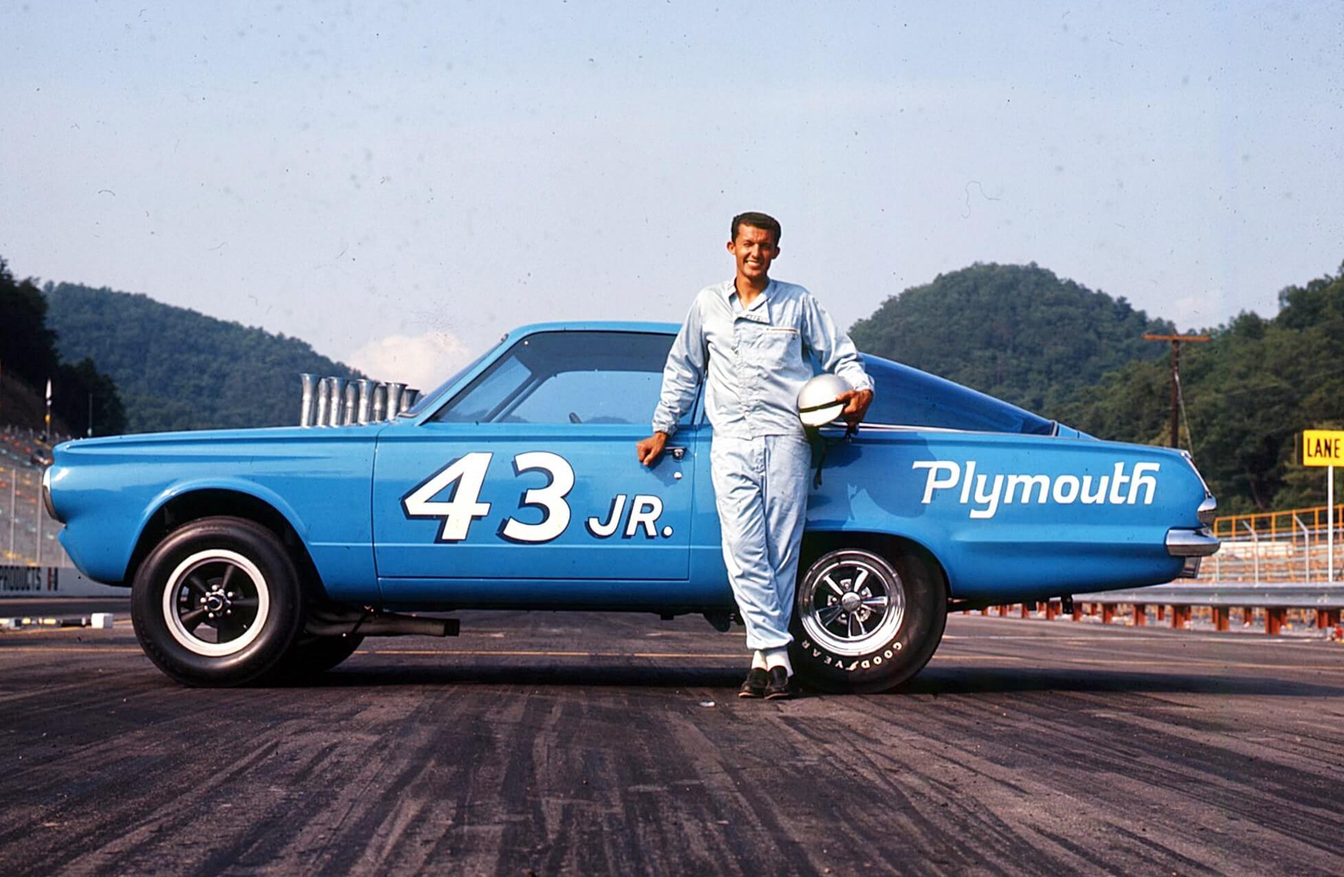 Richard Petty racing NASCAR driver